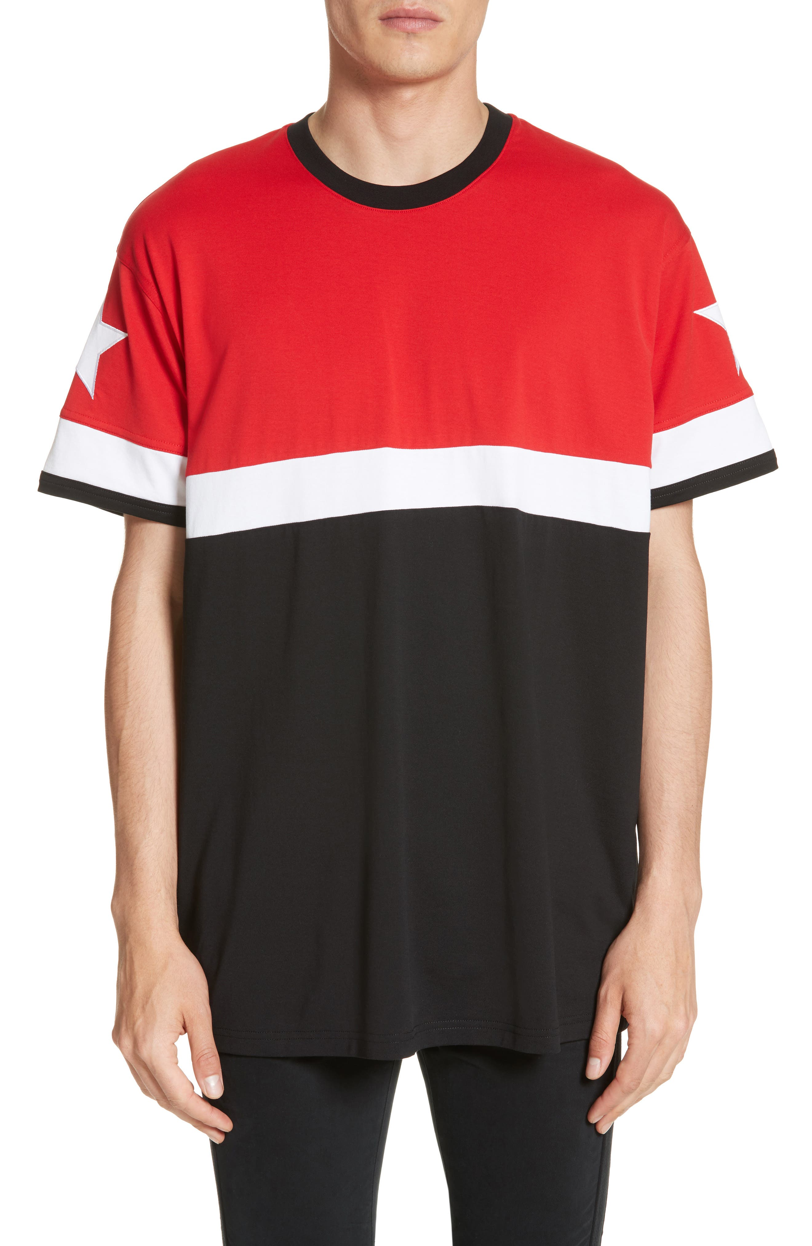 Givenchy Columbian Fit Colorblock T-Shirt