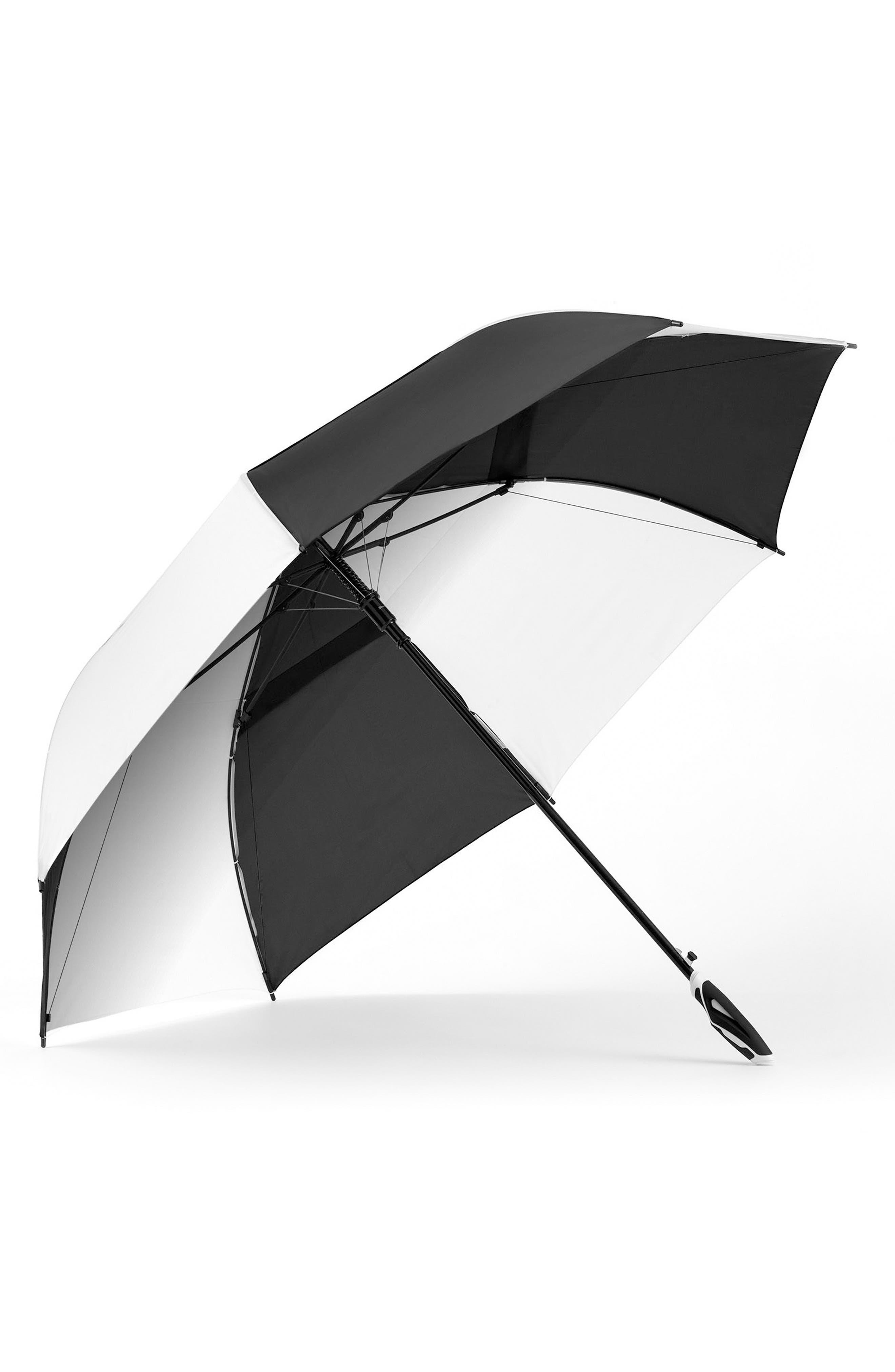 Alternate Image 1 Selected - ShedRain 'WindJammer®' Auto Open Golf Umbrella