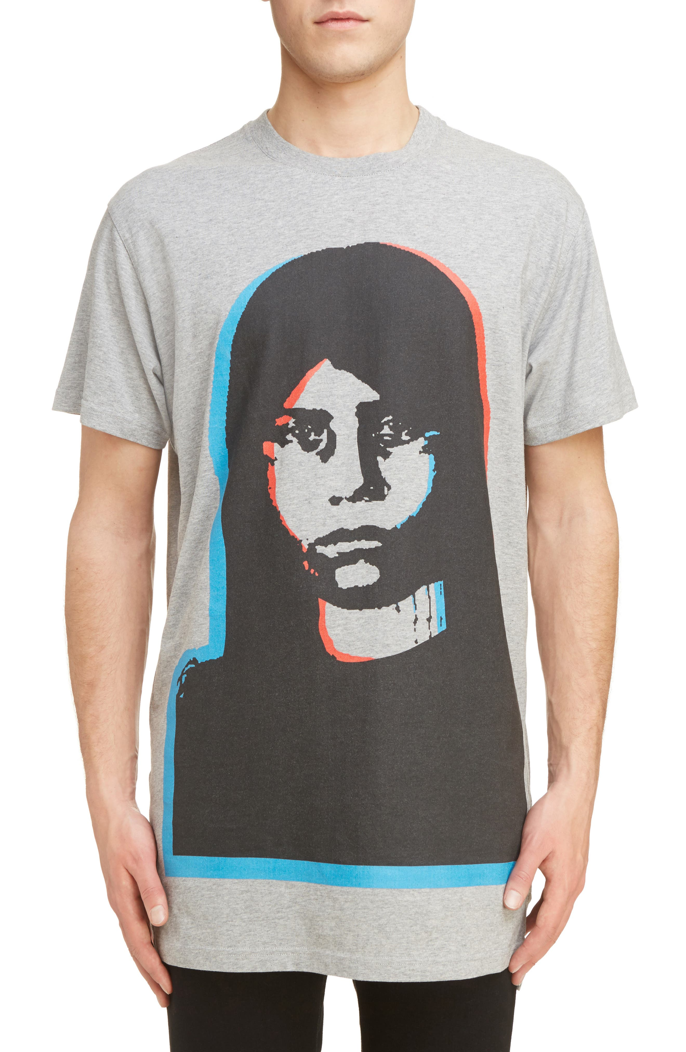 Givenchy Columbian Fit Large Face Graphic T-Shirt