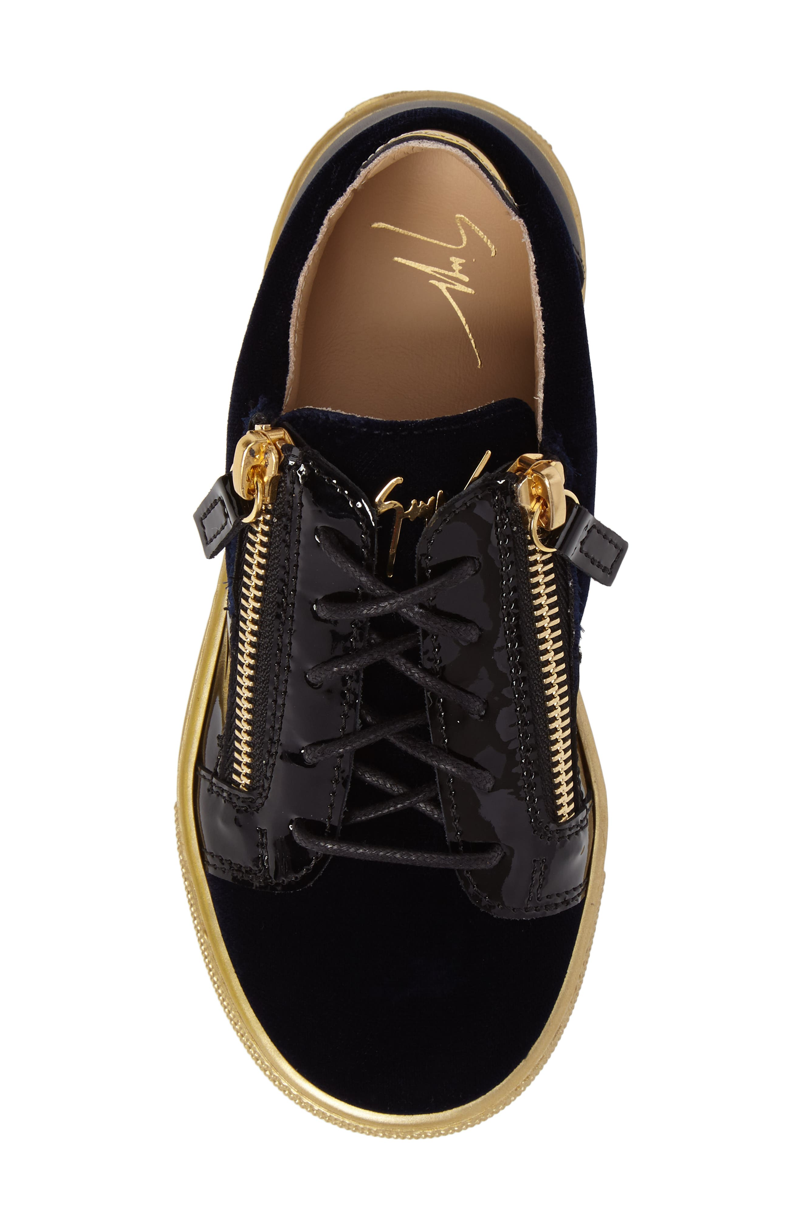 Alternate Image 5  - Giuseppe Zanotti London Sneaker (Toddler & Little Kid)