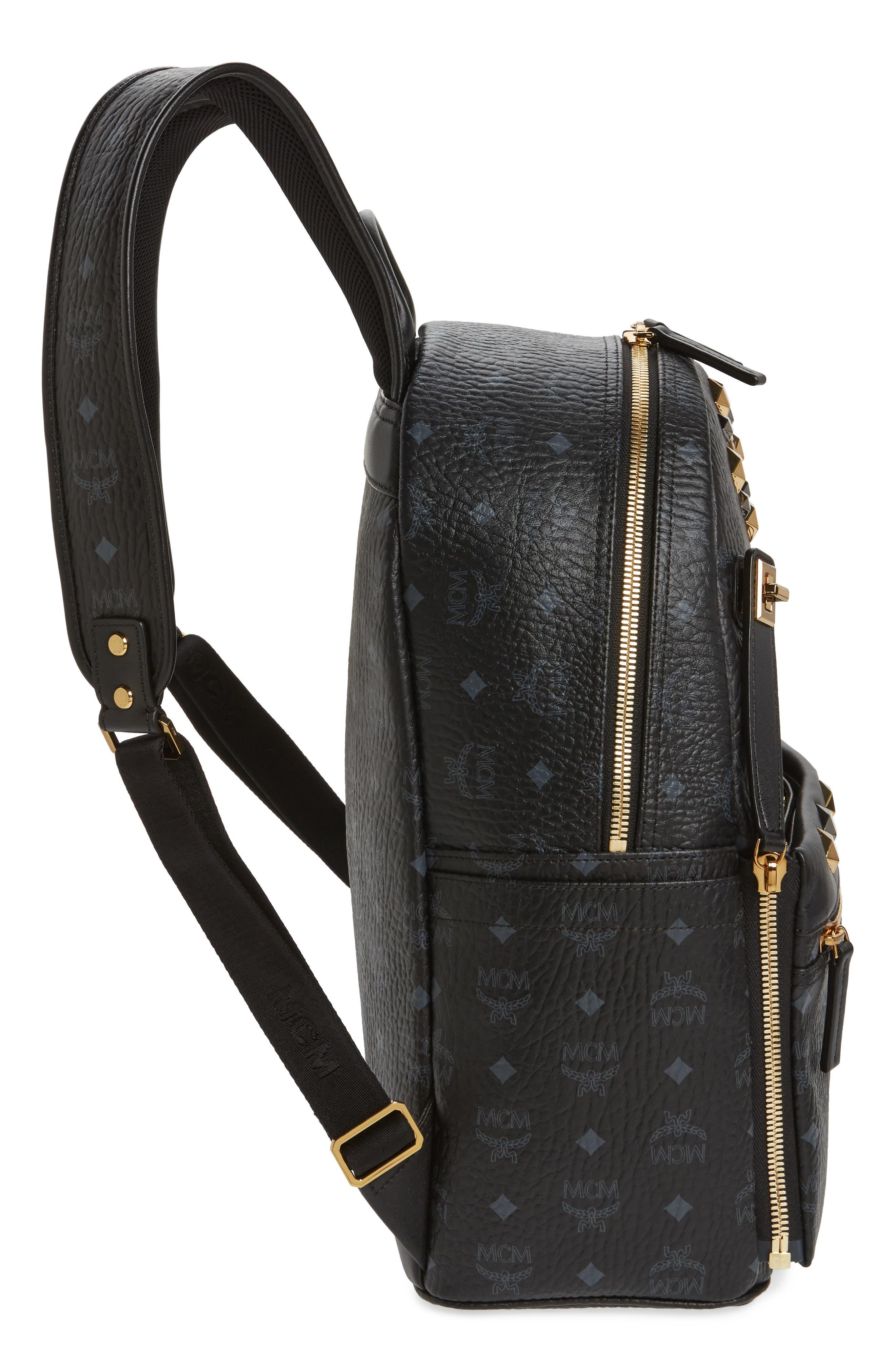 Alternate Image 5  - MCM Medium Dual Stark Backpack