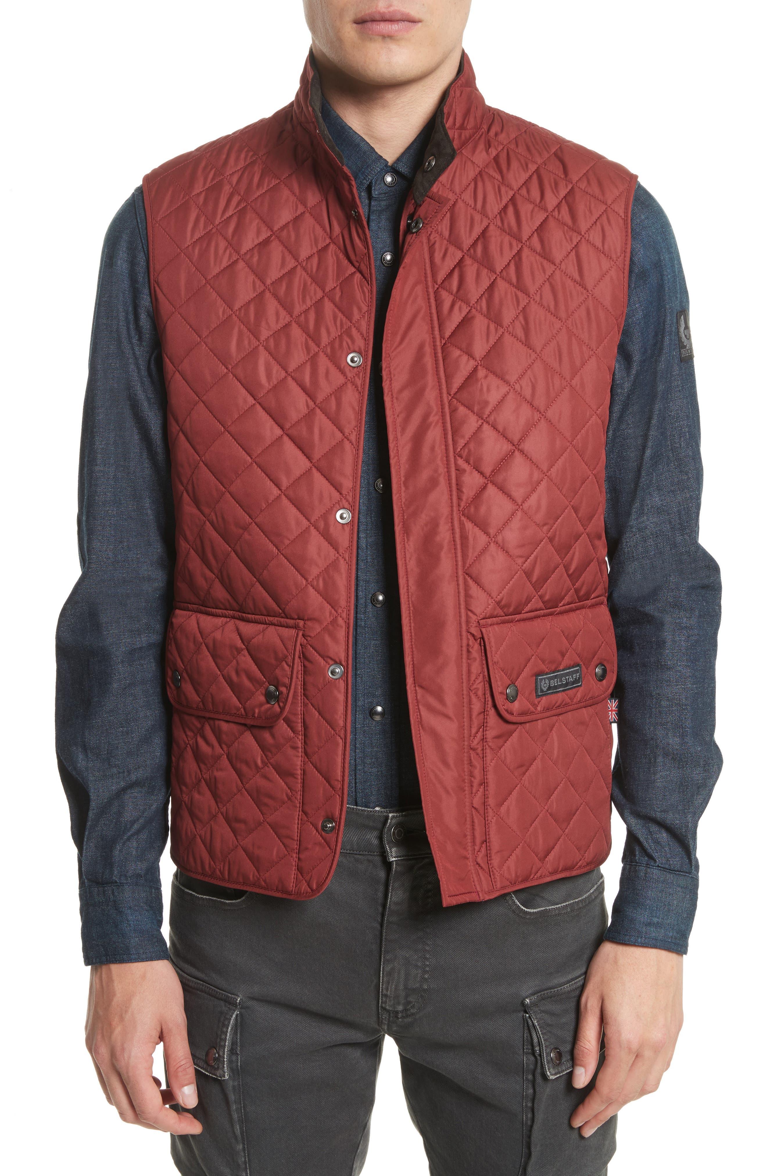 Belstaff Waistcoat Tech Quilted Vest