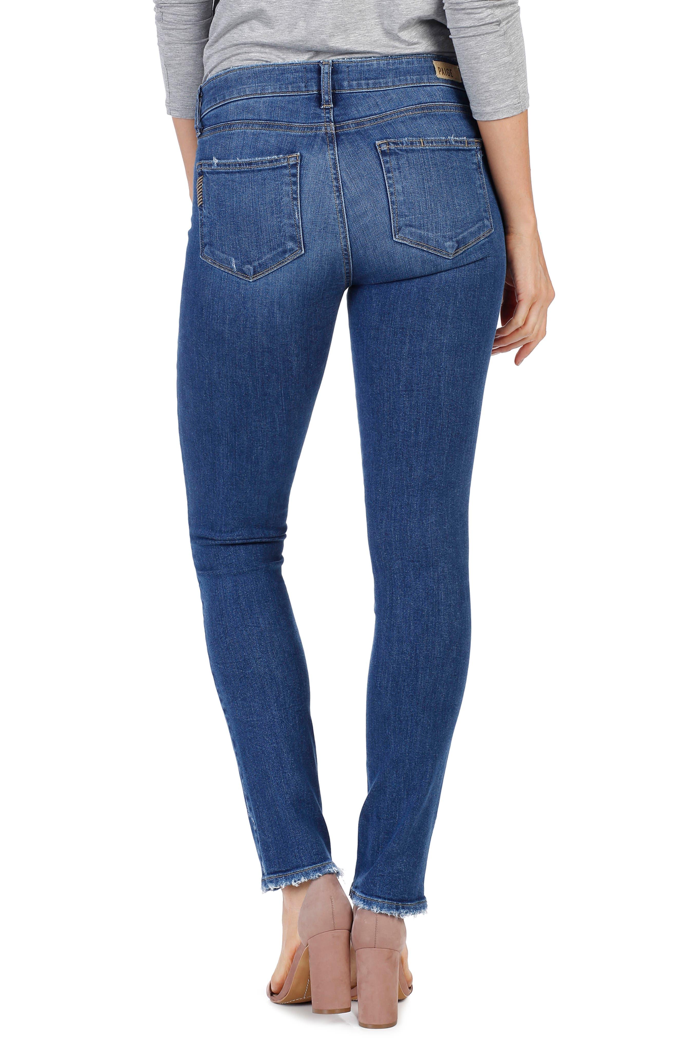 Skyline Skinny Jeans,                             Alternate thumbnail 3, color,                             Bali