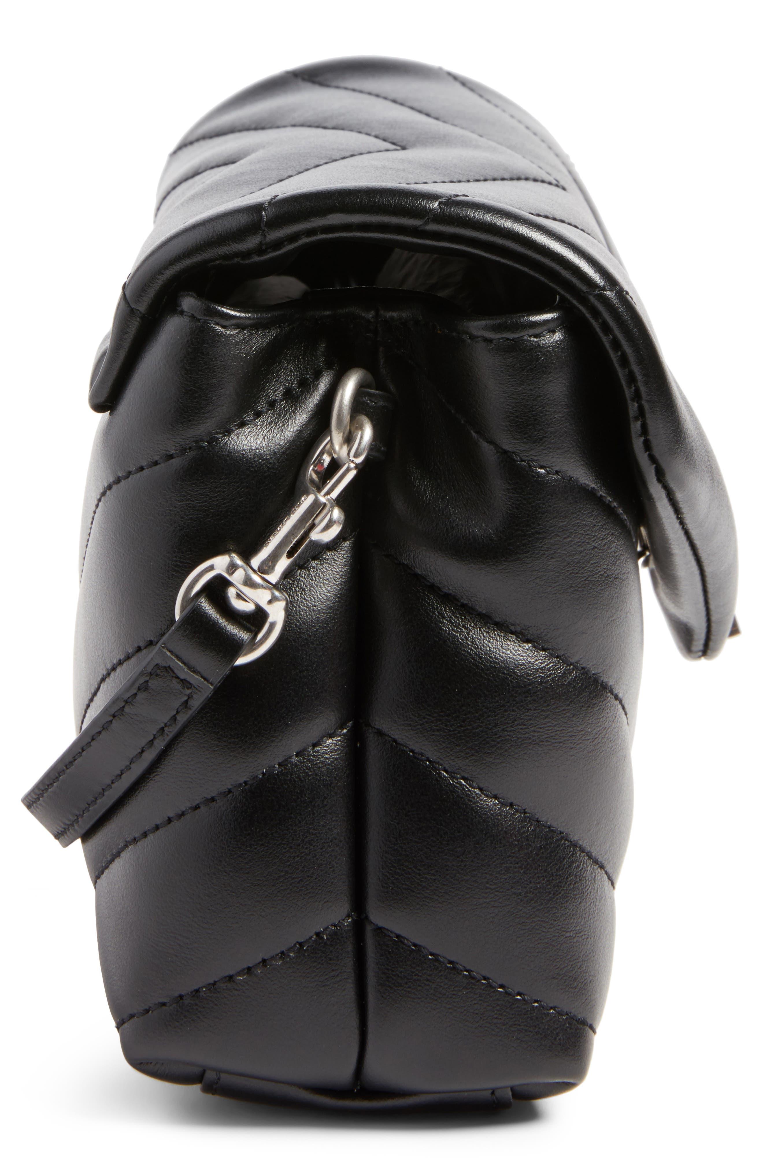 Alternate Image 5  - Saint Laurent Toy LouLou Calfskin Leather Crossbody Bag