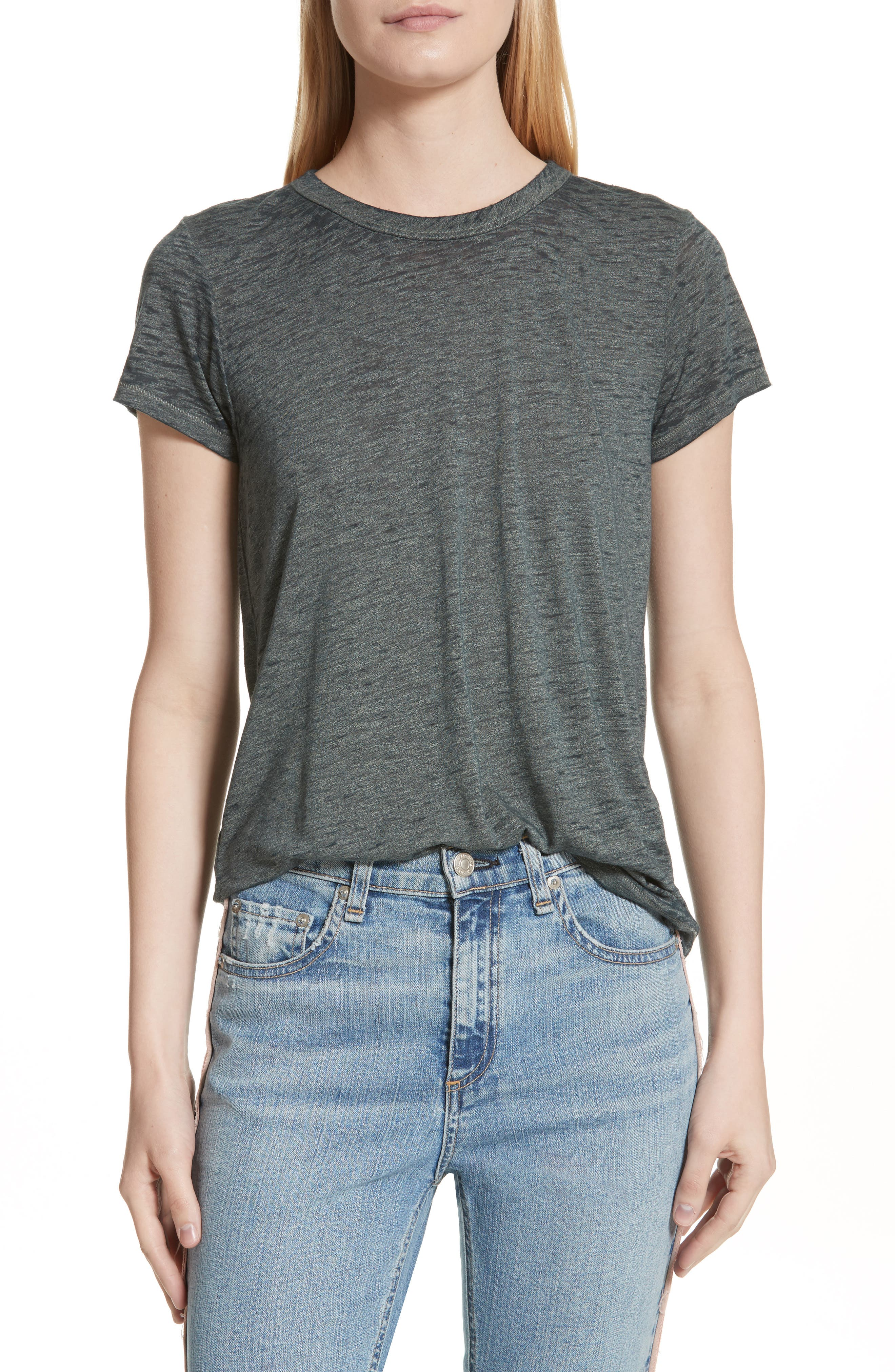 The Burnout Tee,                         Main,                         color, Green