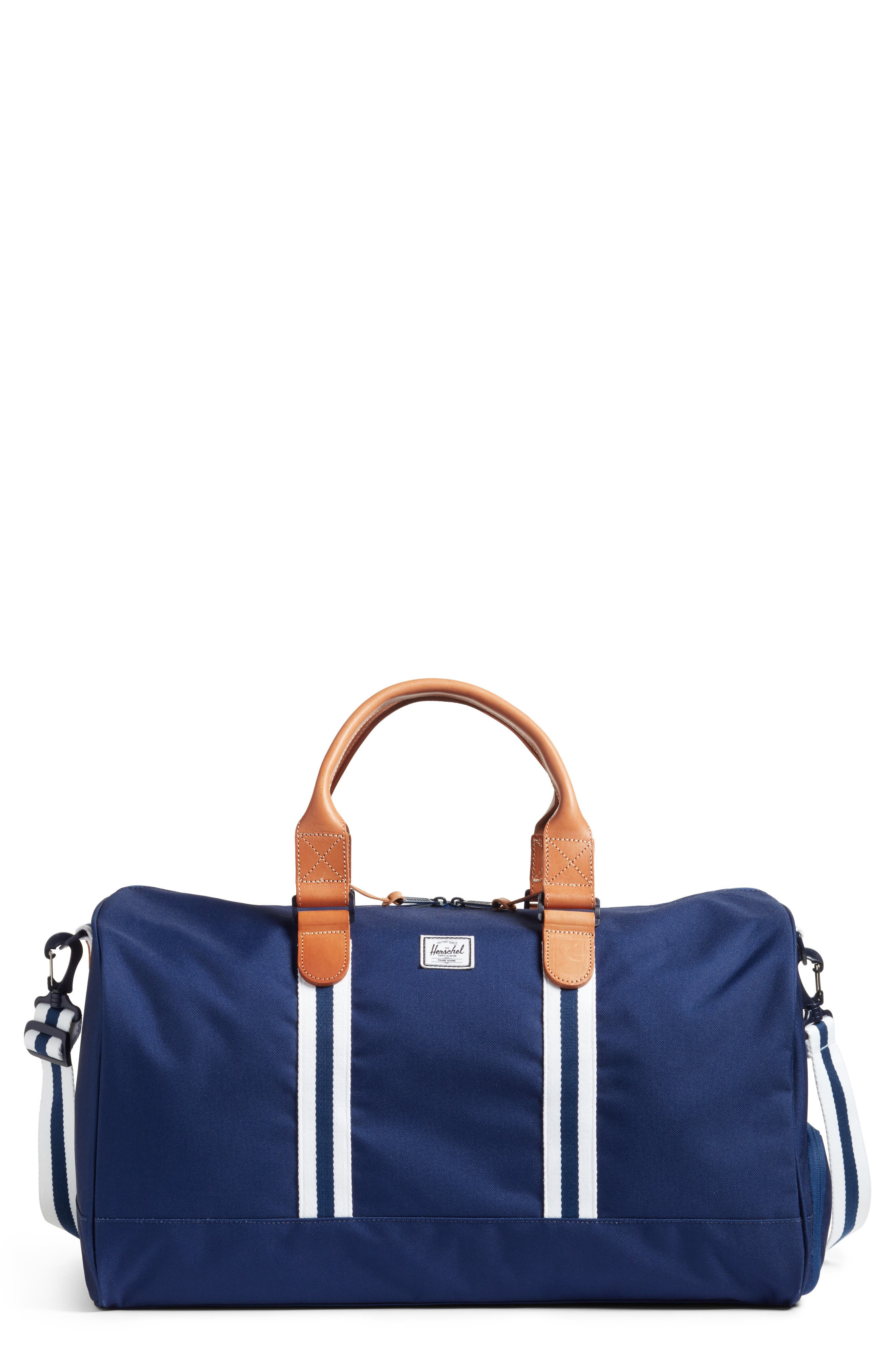 Novel Duffel Bag,                         Main,                         color, Blue Depths