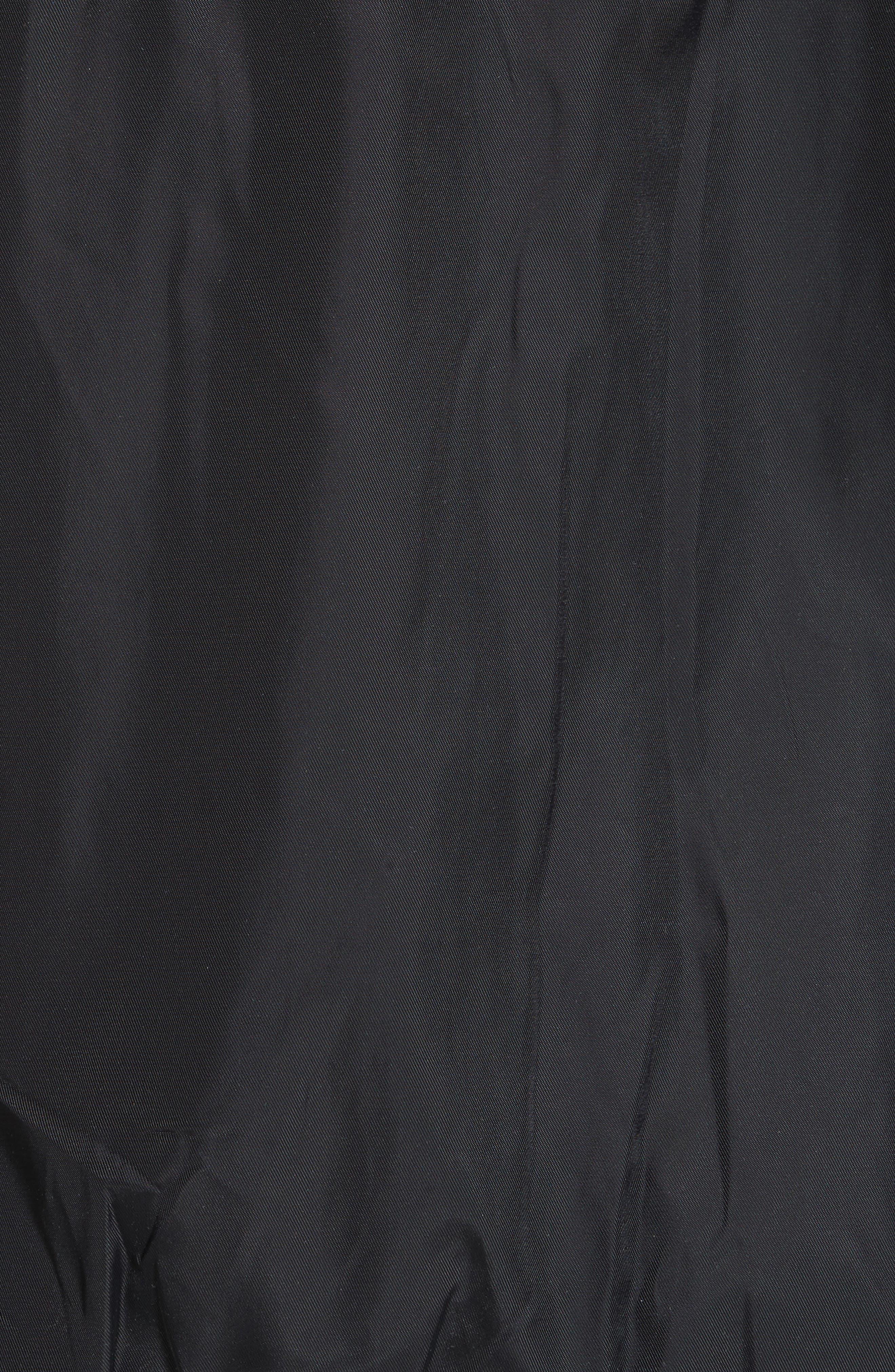 Studded Western Varsity Jacket,                             Alternate thumbnail 5, color,                             Black Multi