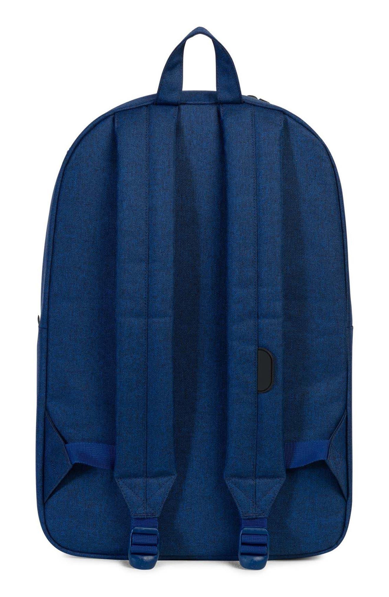 Heritage Backpack,                             Alternate thumbnail 3, color,                             Eclipse Crosshatch/ Black