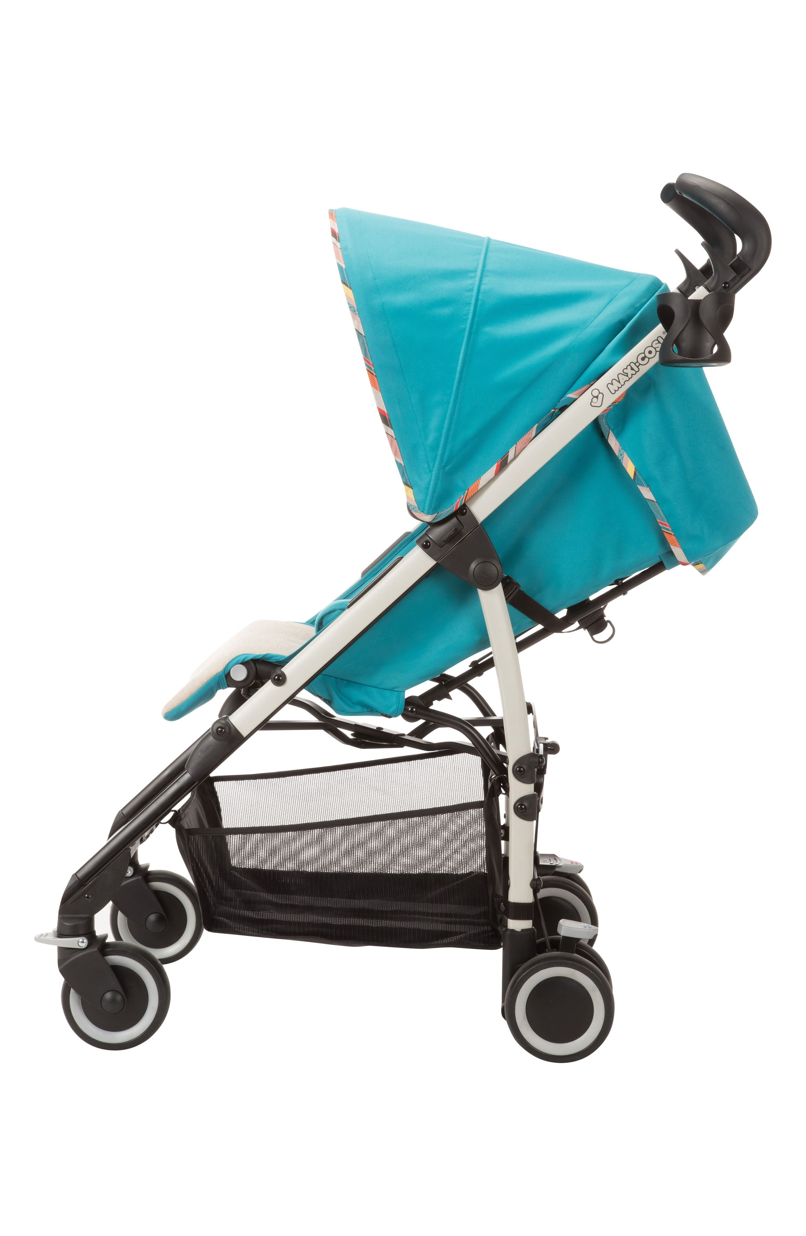Kaia<sup>™</sup> Compact Stroller,                             Alternate thumbnail 3, color,                             Bohemian Blue