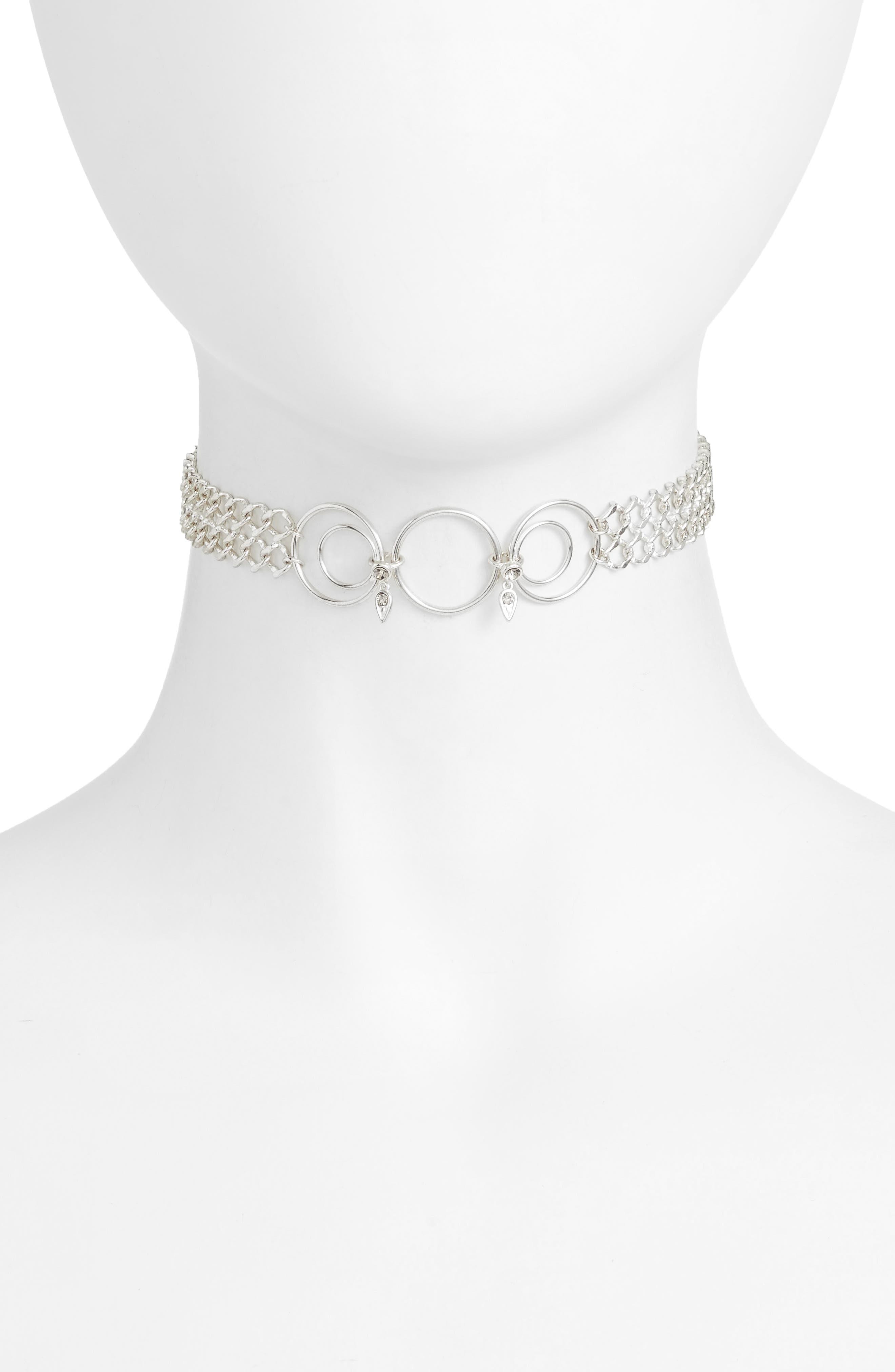 Main Image - Luv AJ Eclipse Choker Necklace