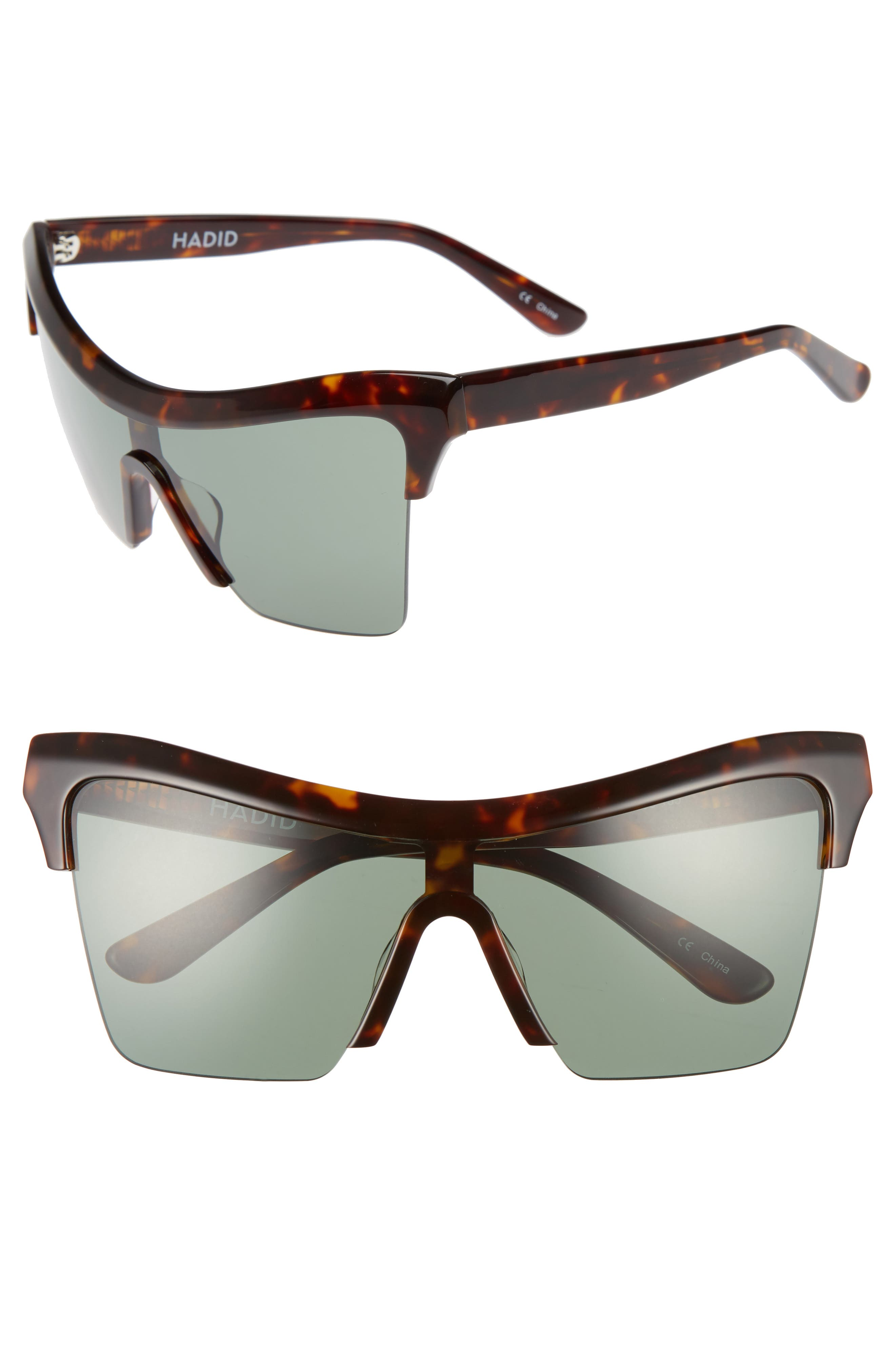 Hadid Passport Control 68mm Sunglasses
