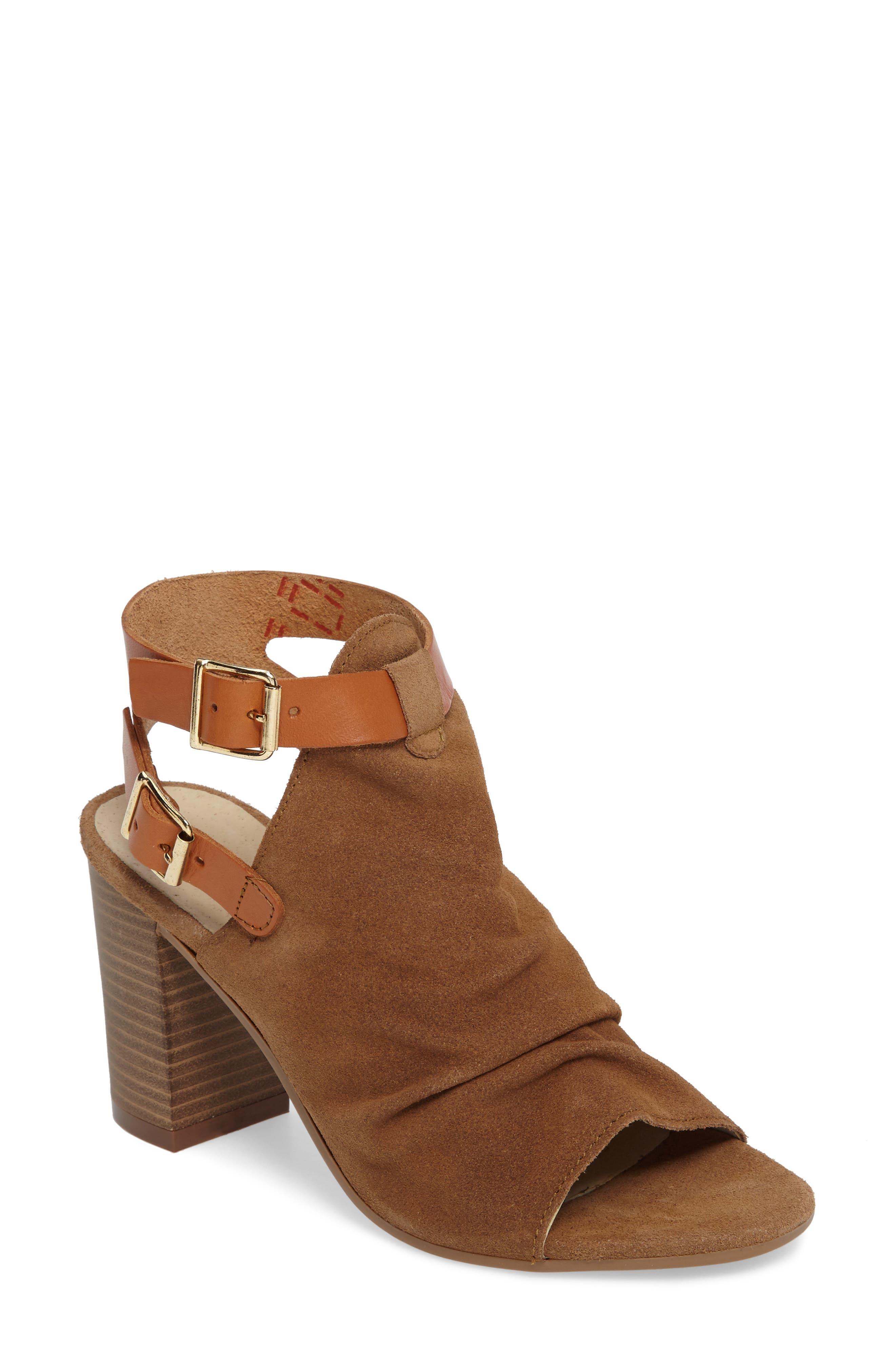 Alternate Image 1 Selected - Bos. & Co. Ivy Block Heel Sandal (Women)