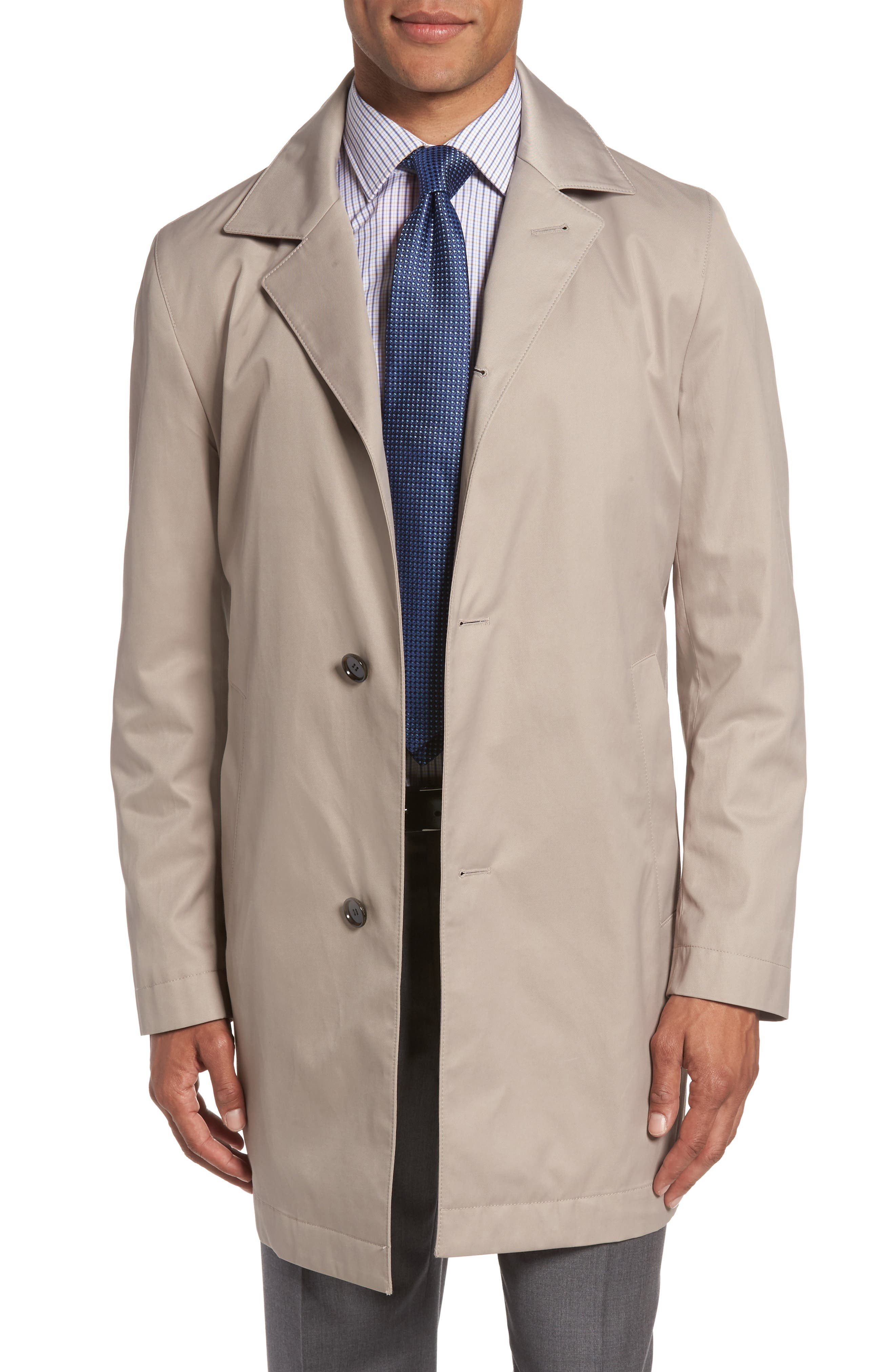 BOSS Dais Water-Repellent Car Coat