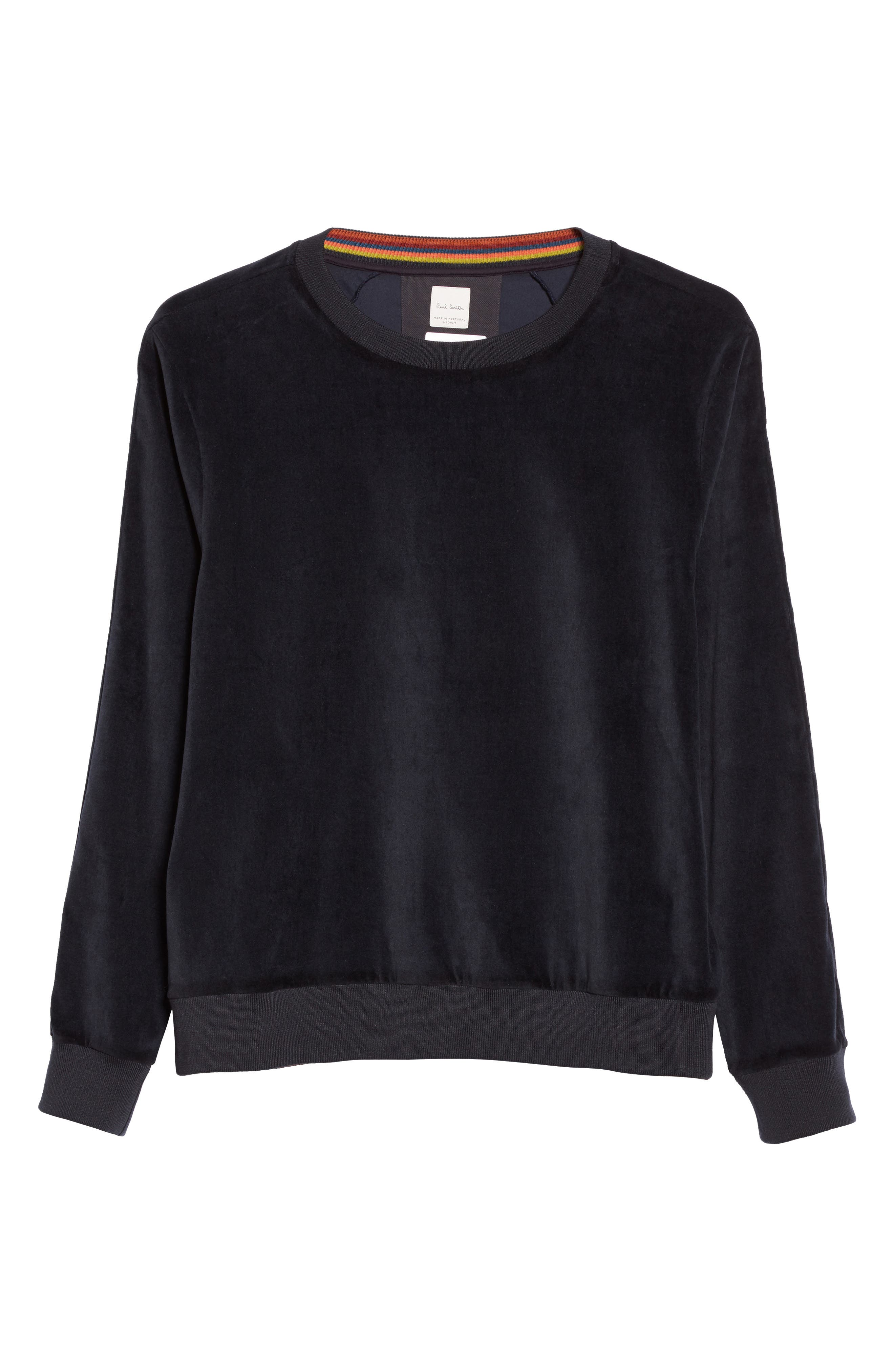 Alternate Image 6  - Paul Smith Velvet Sweatshirt