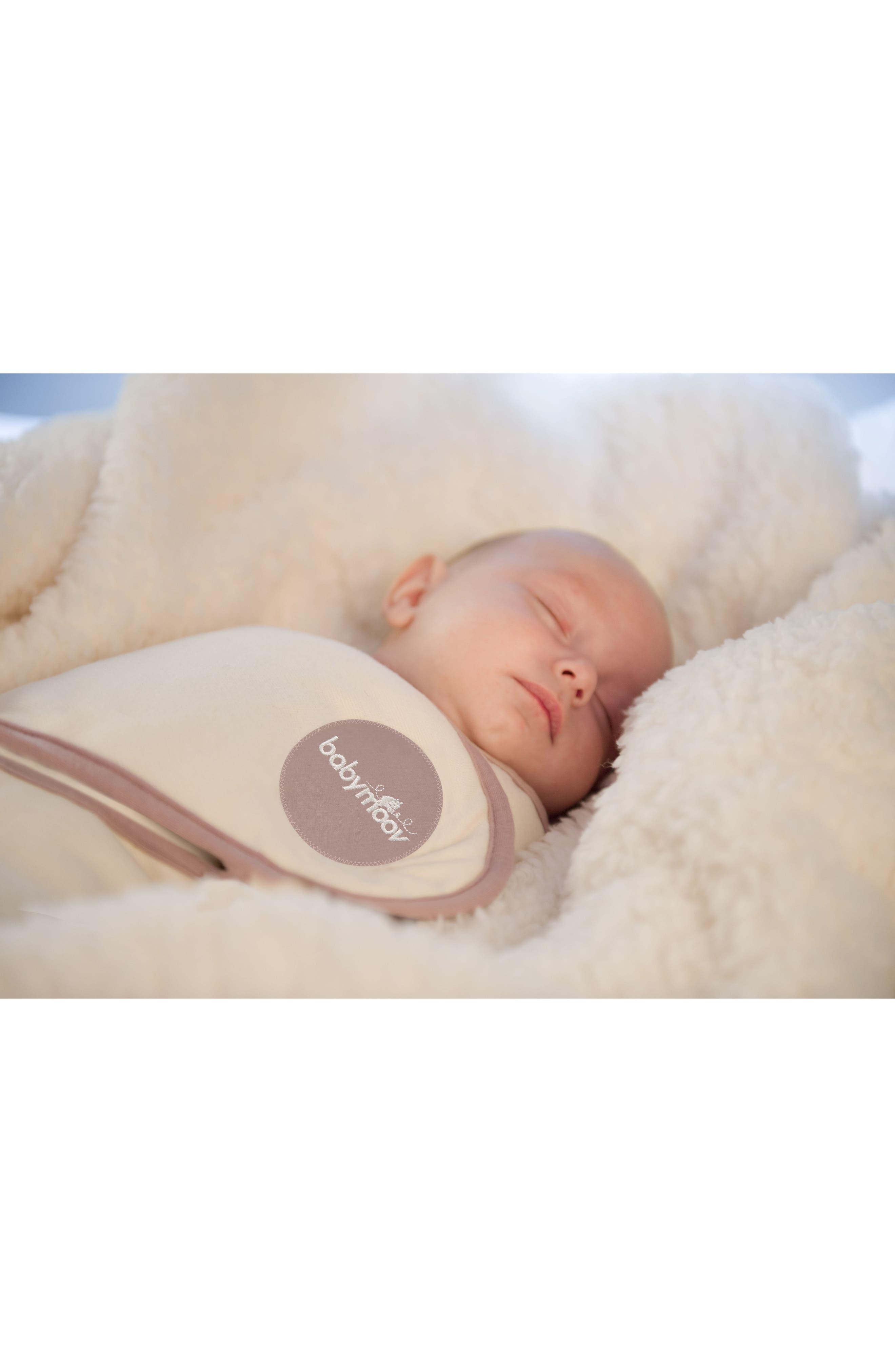 Alternate Image 7  - Babymoov CozyCover Swaddle Wrap Blanket