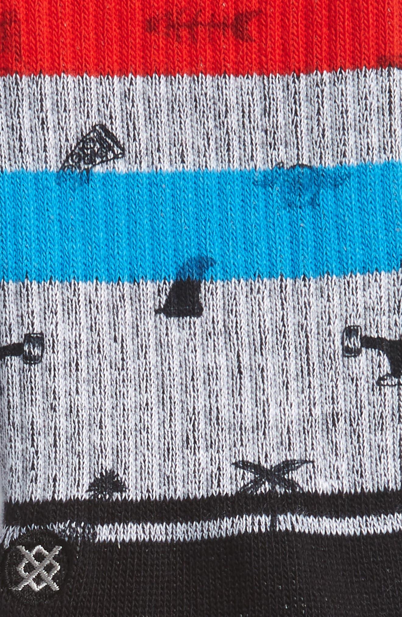 Be Cool Socks,                             Alternate thumbnail 2, color,                             Blue