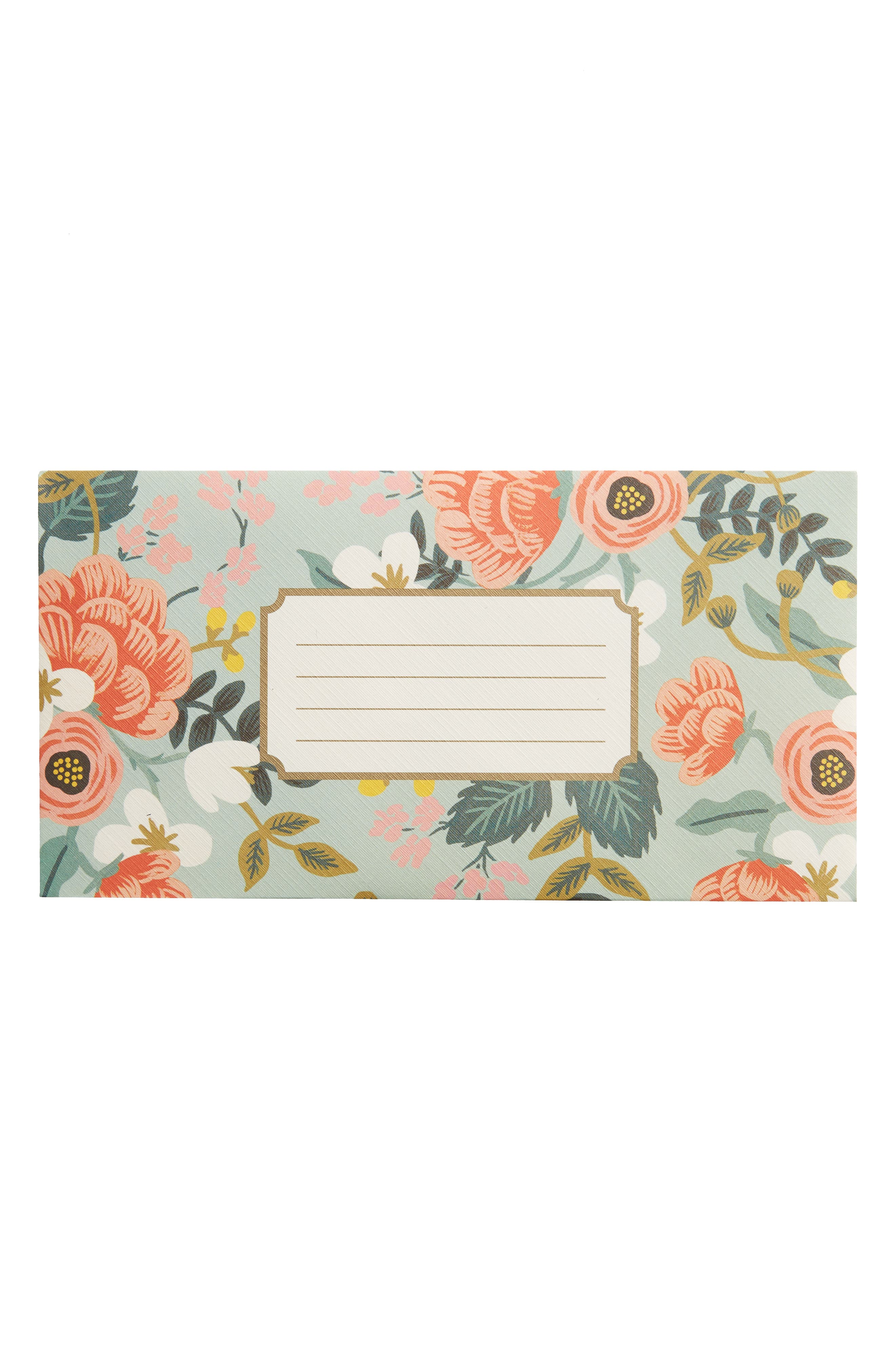 Rifle Paper Co. Mint Birch 25-Pack Monarch Envelopes