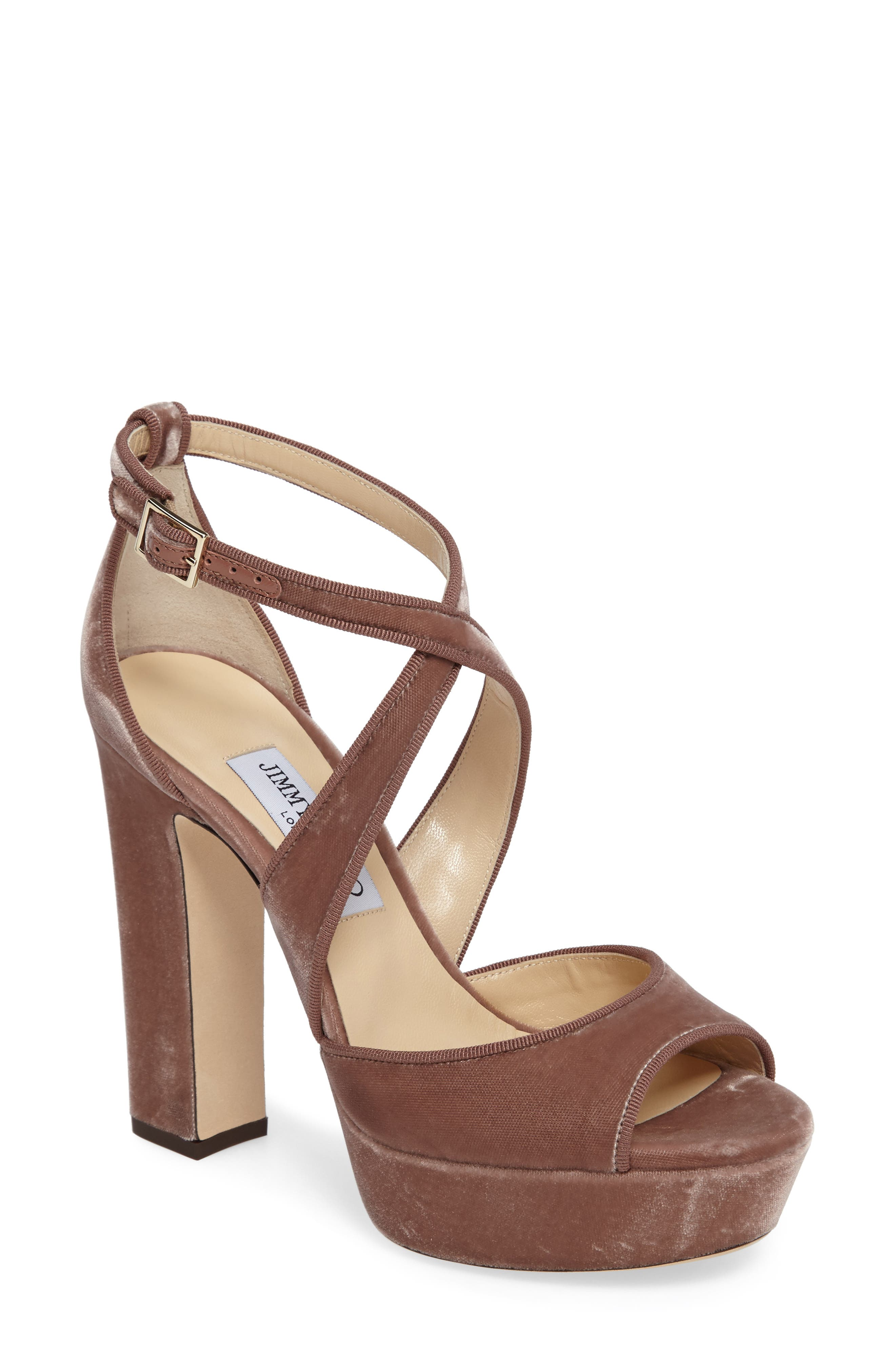 Alternate Image 1 Selected - Jimmy Choo April Platform Sandal (Women)