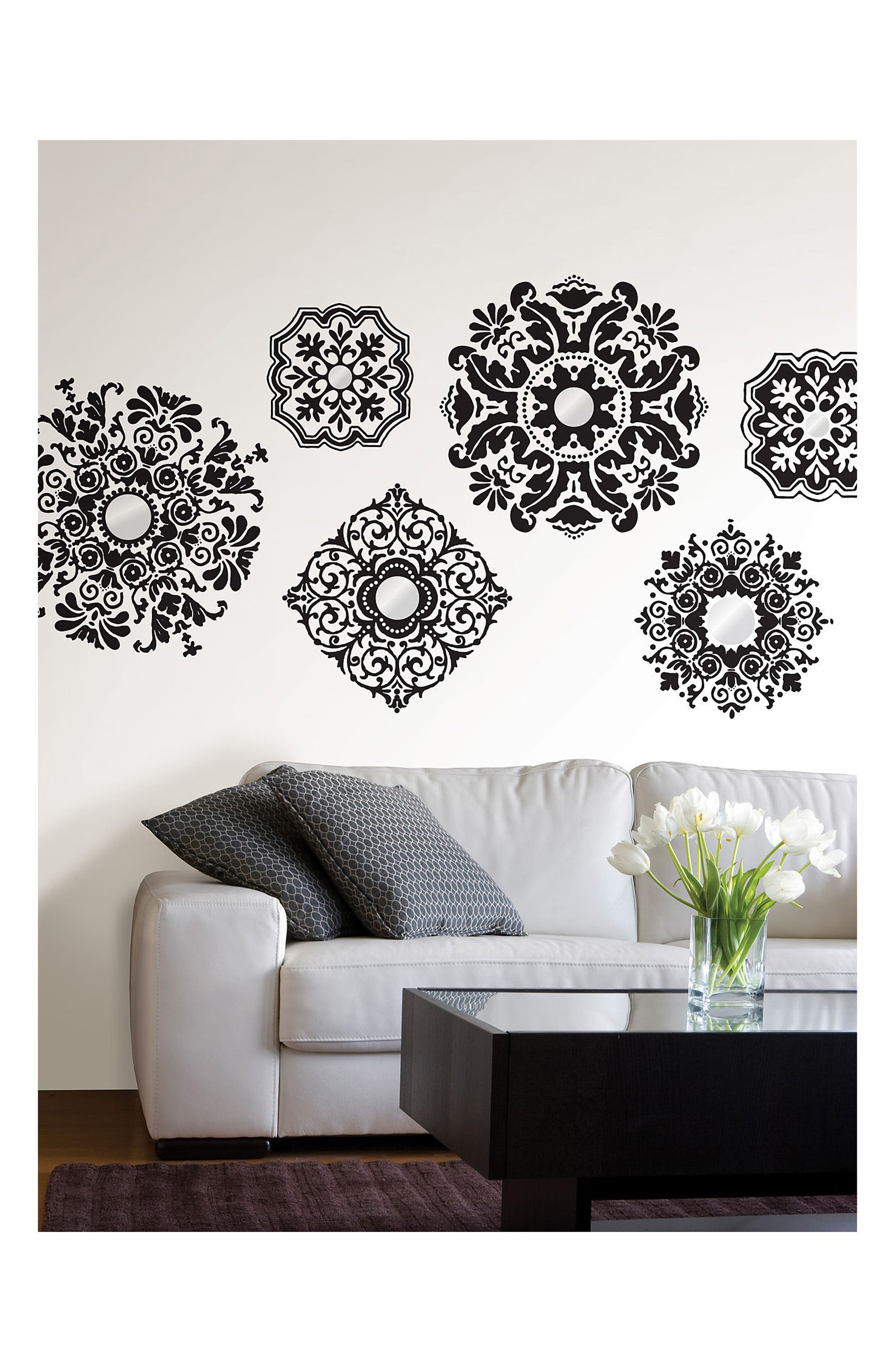 Alternate Image 3  - Wallpops Baroque 6-Piece Wall Art Decal Set