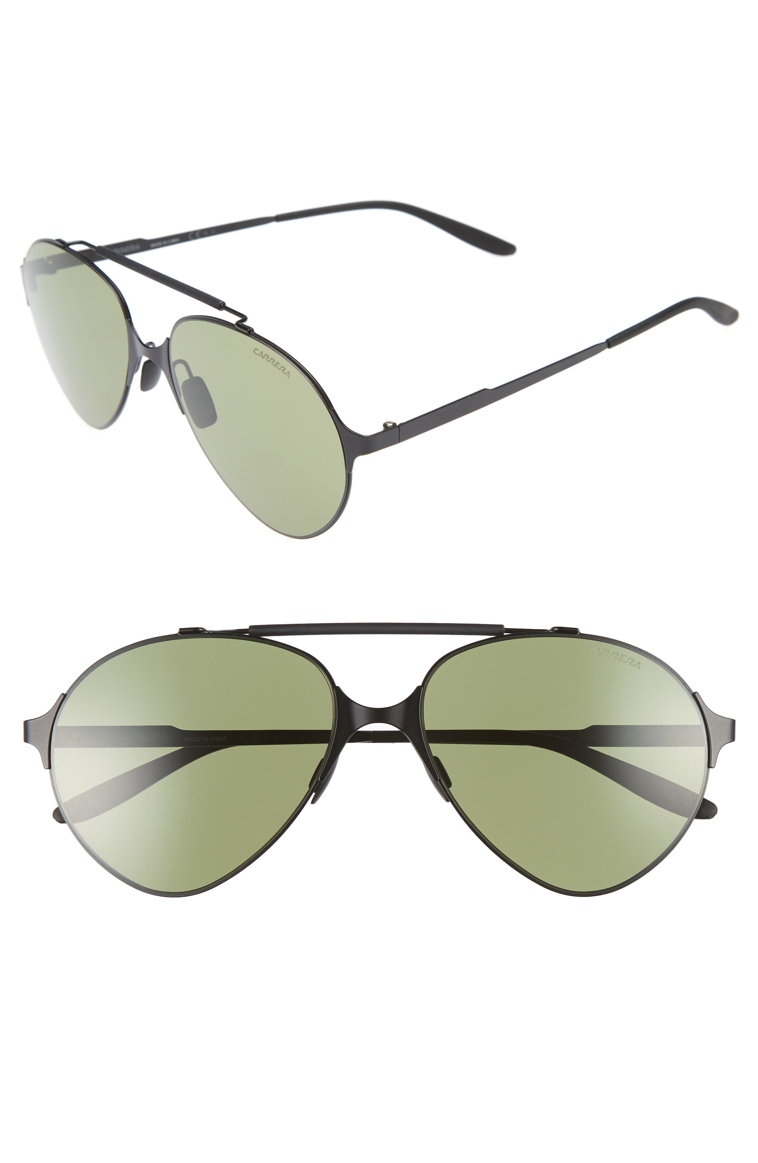 Carrera 58mm Gradient Pilot Sunglasses