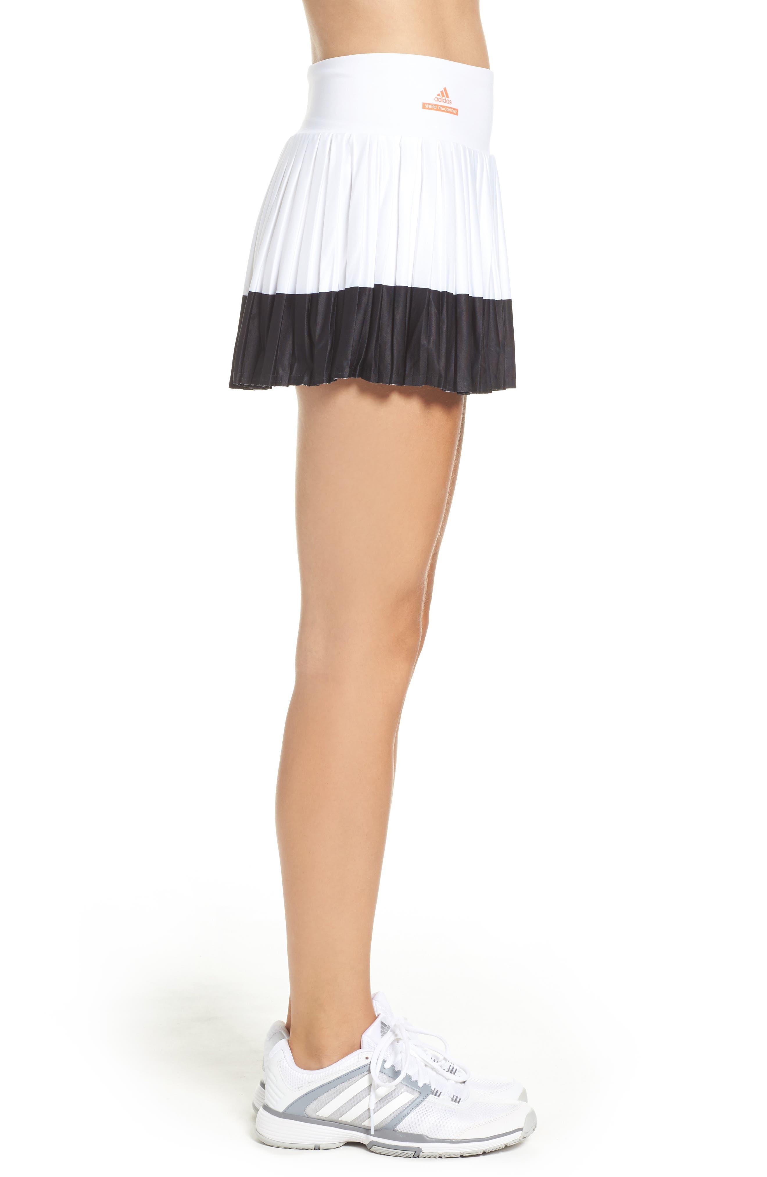 Barricade Skirt,                             Alternate thumbnail 3, color,                             White/ Black