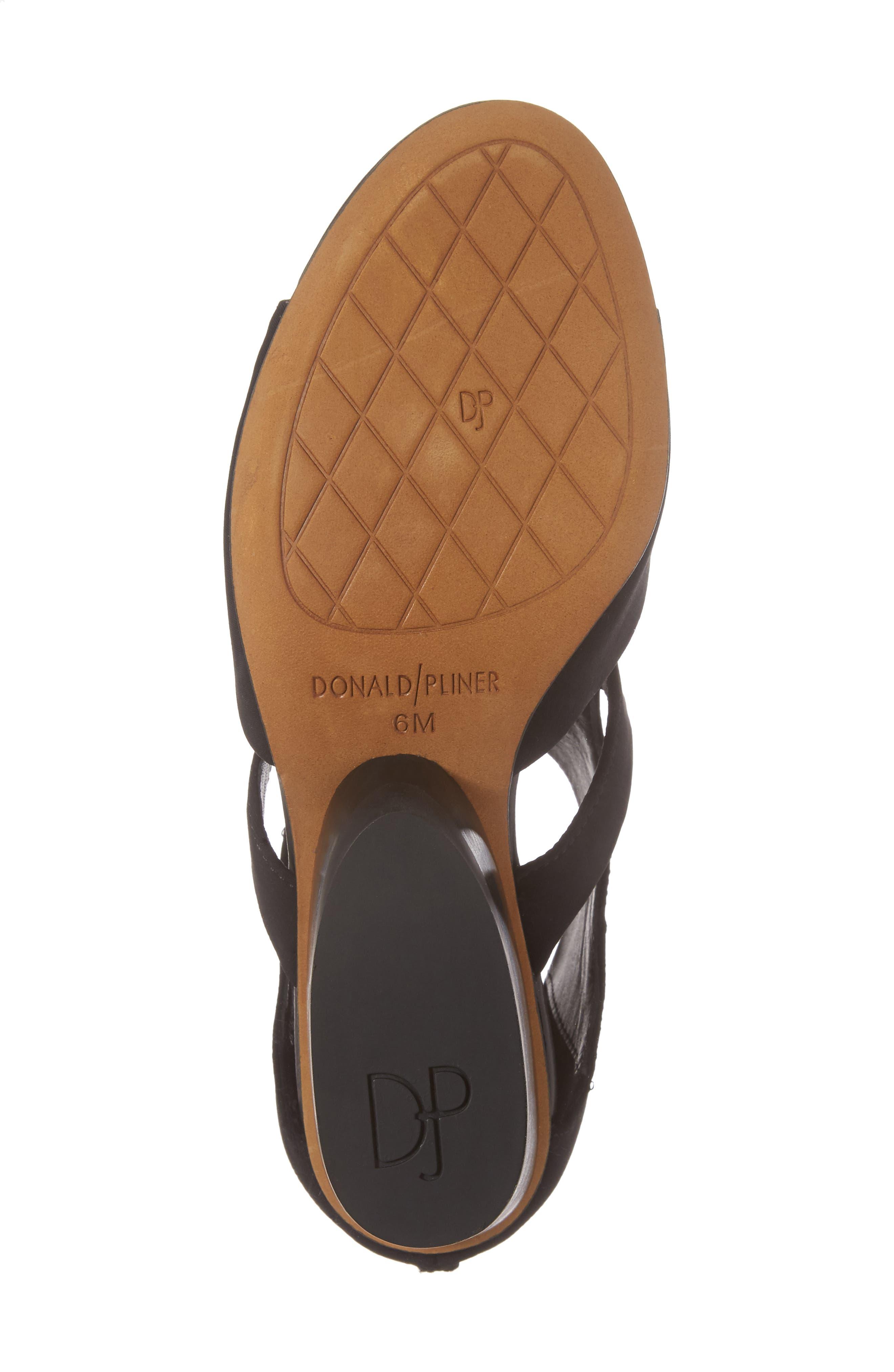 Alternate Image 6  - Donald Pliner Jenkin Wedge Sandal (Women)