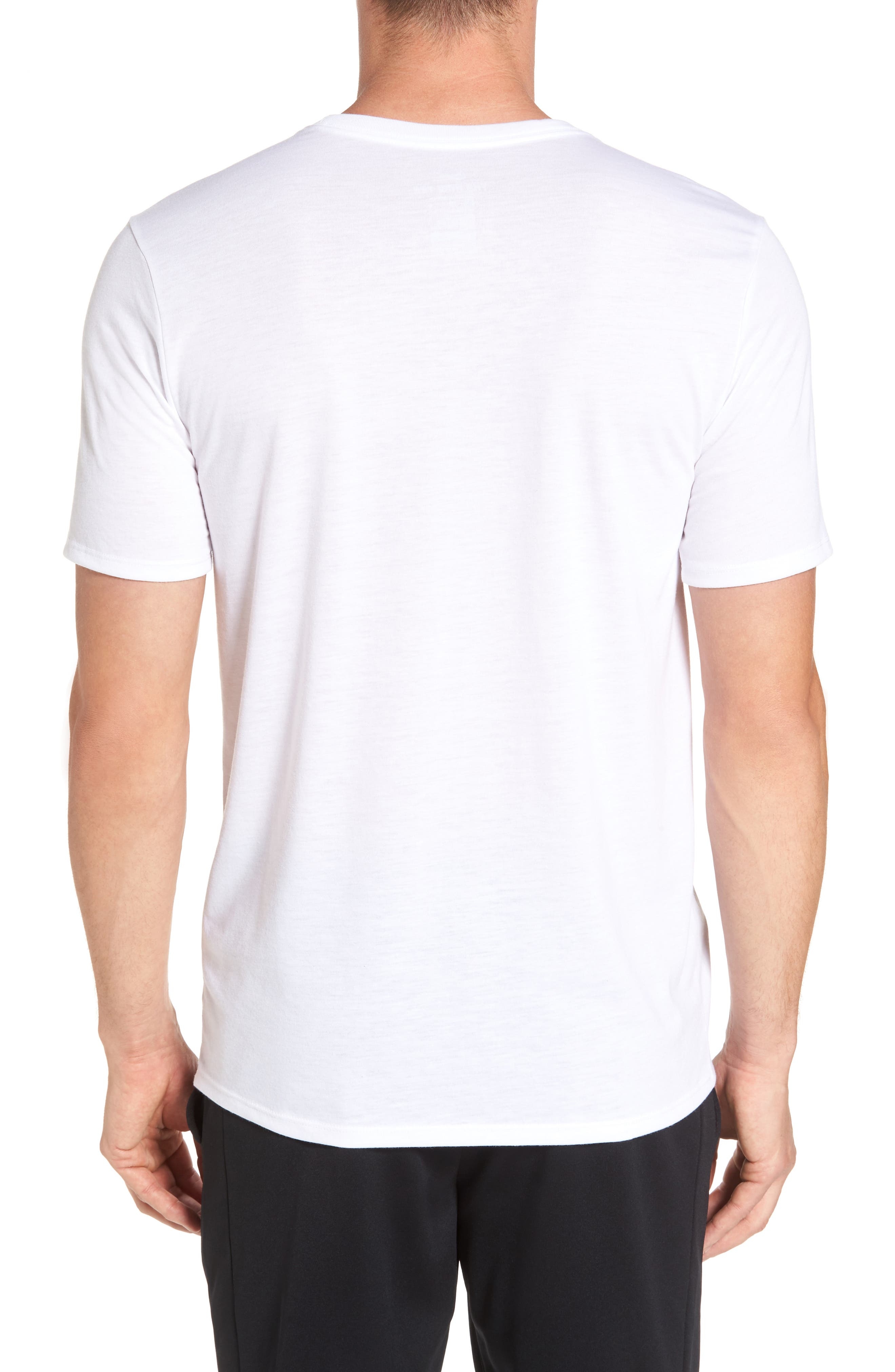 Photo Ball Graphic T-Shirt,                             Alternate thumbnail 2, color,                             White/ White