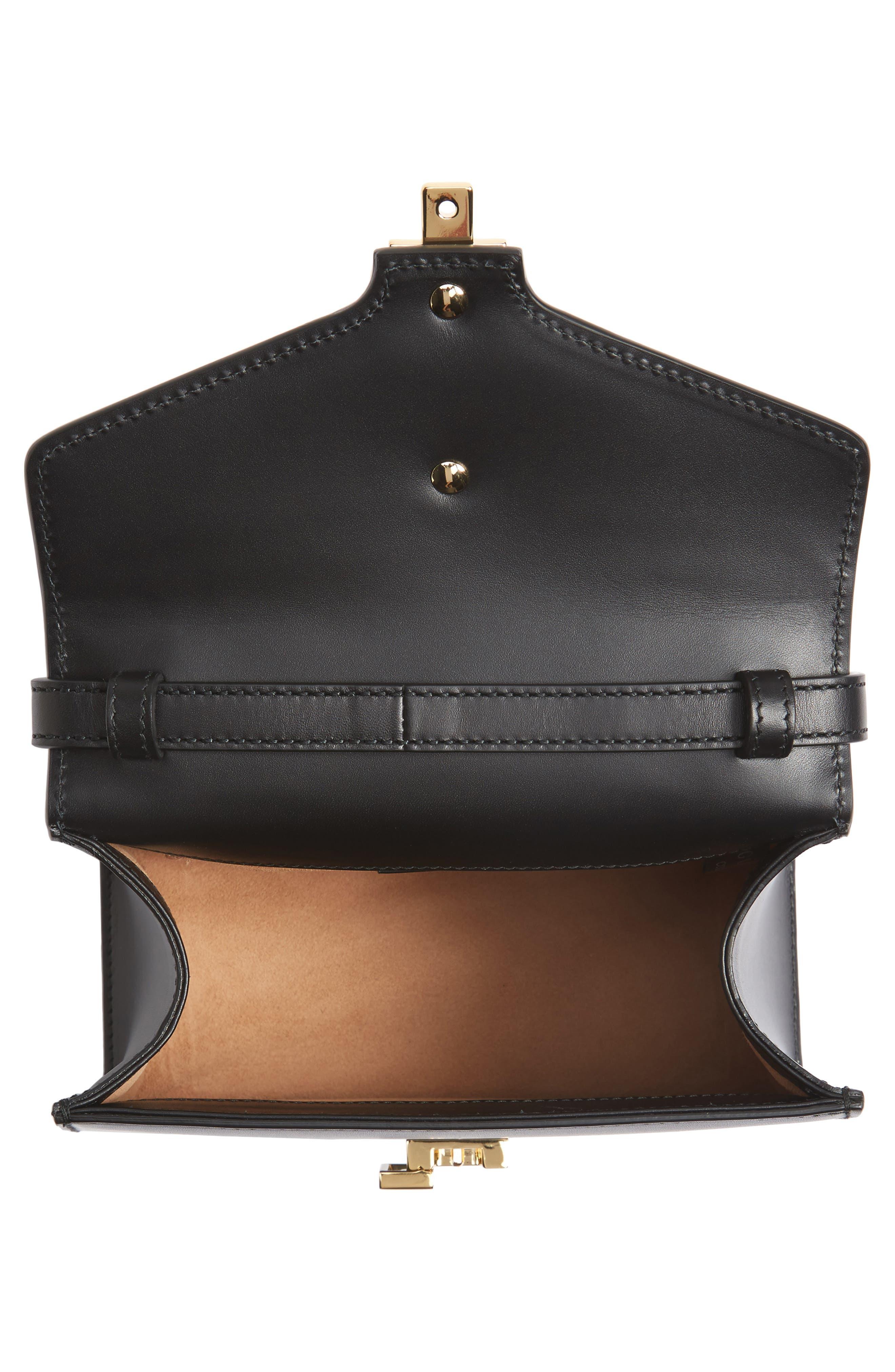 Alternate Image 4  - Gucci Mini Sylvie Top Handle Leather Shoulder Bag