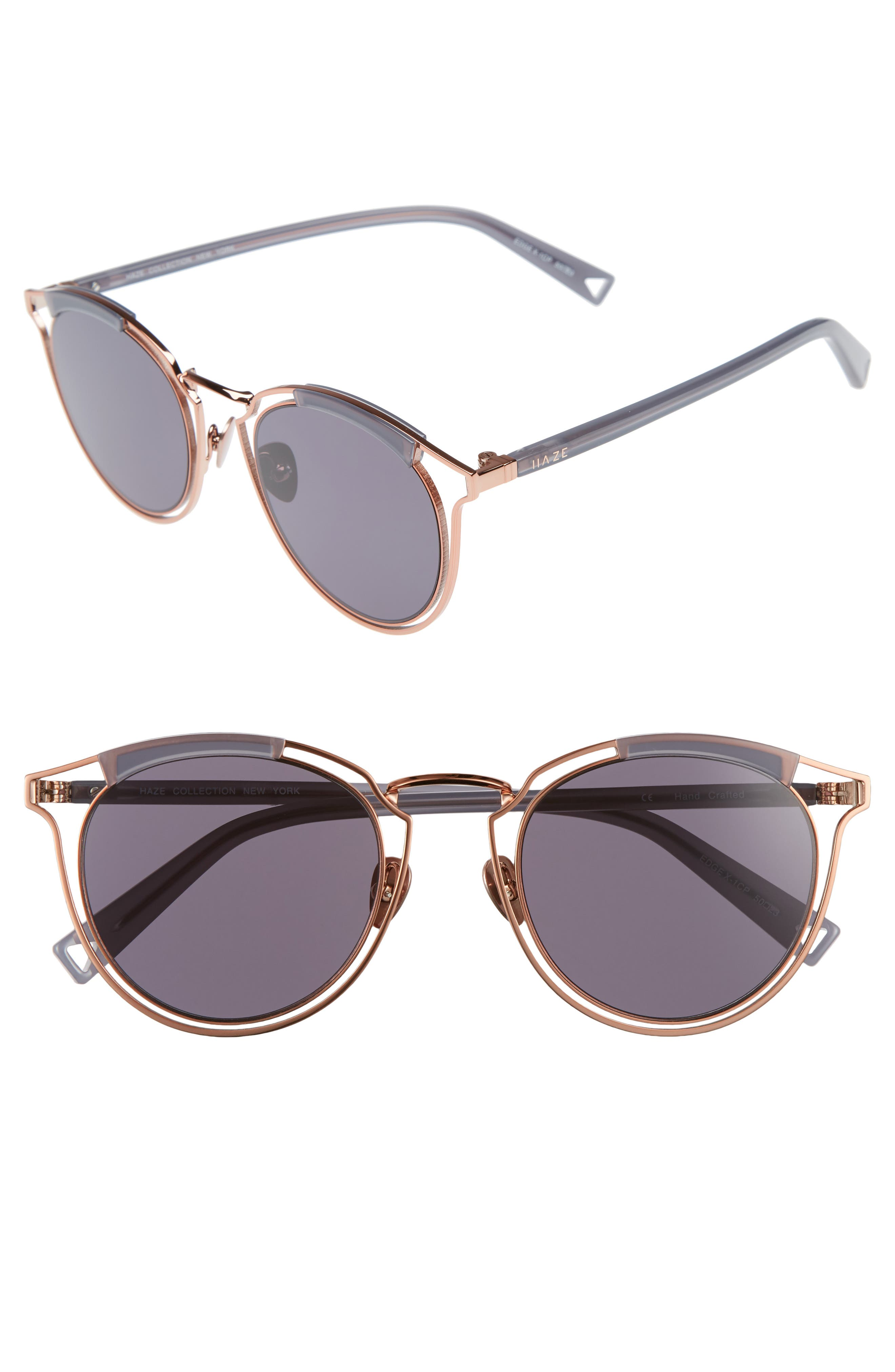 Alternate Image 1 Selected - HAZE Edge X 50mm Modified Round Sunglasses