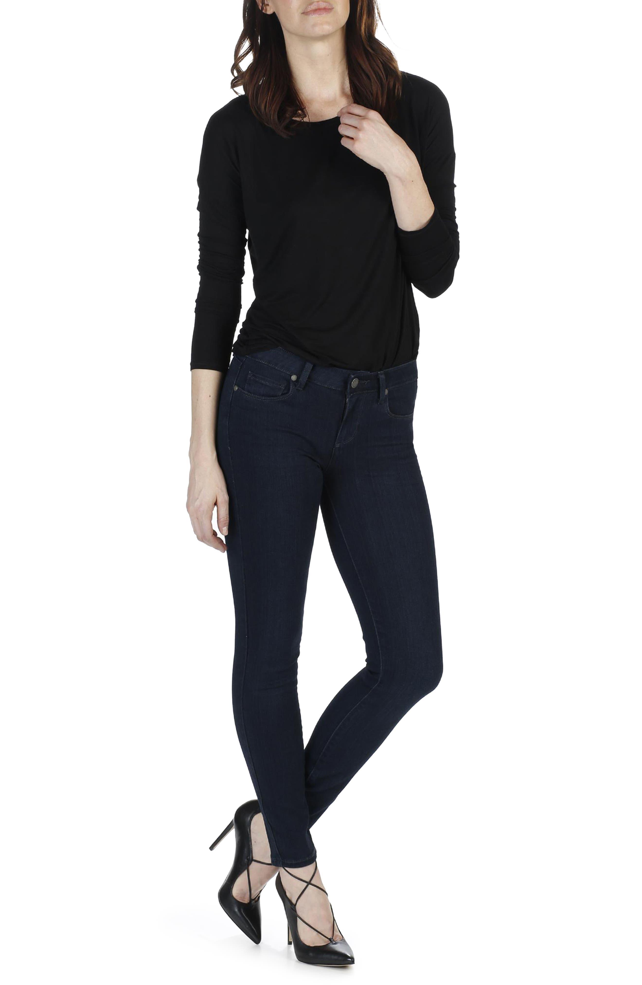 Alternate Image 2  - PAIGE Transcend - Verdugo Ankle Ultra Skinny Jeans