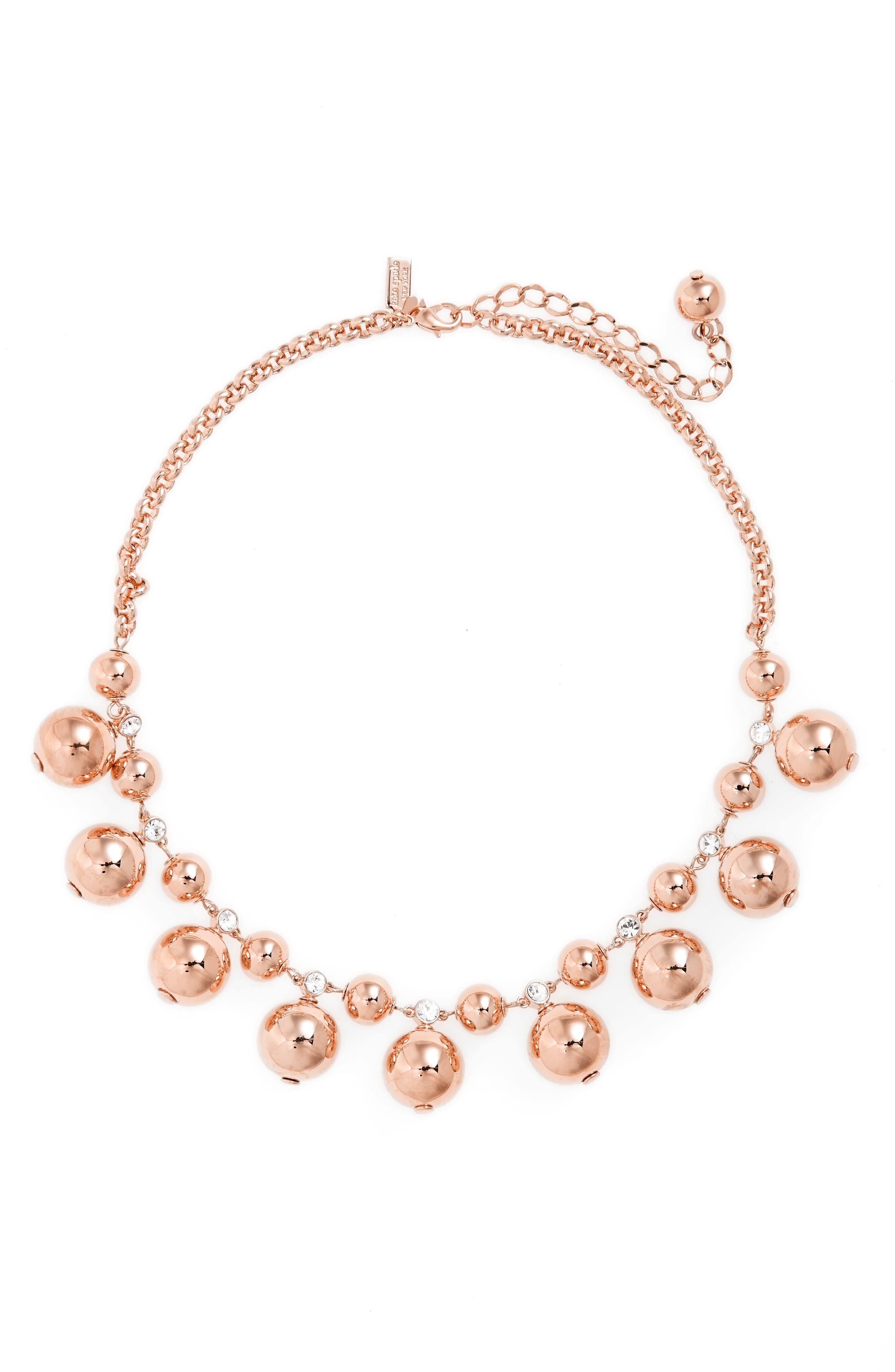 KATE SPADE NEW YORK golden girl collar necklace