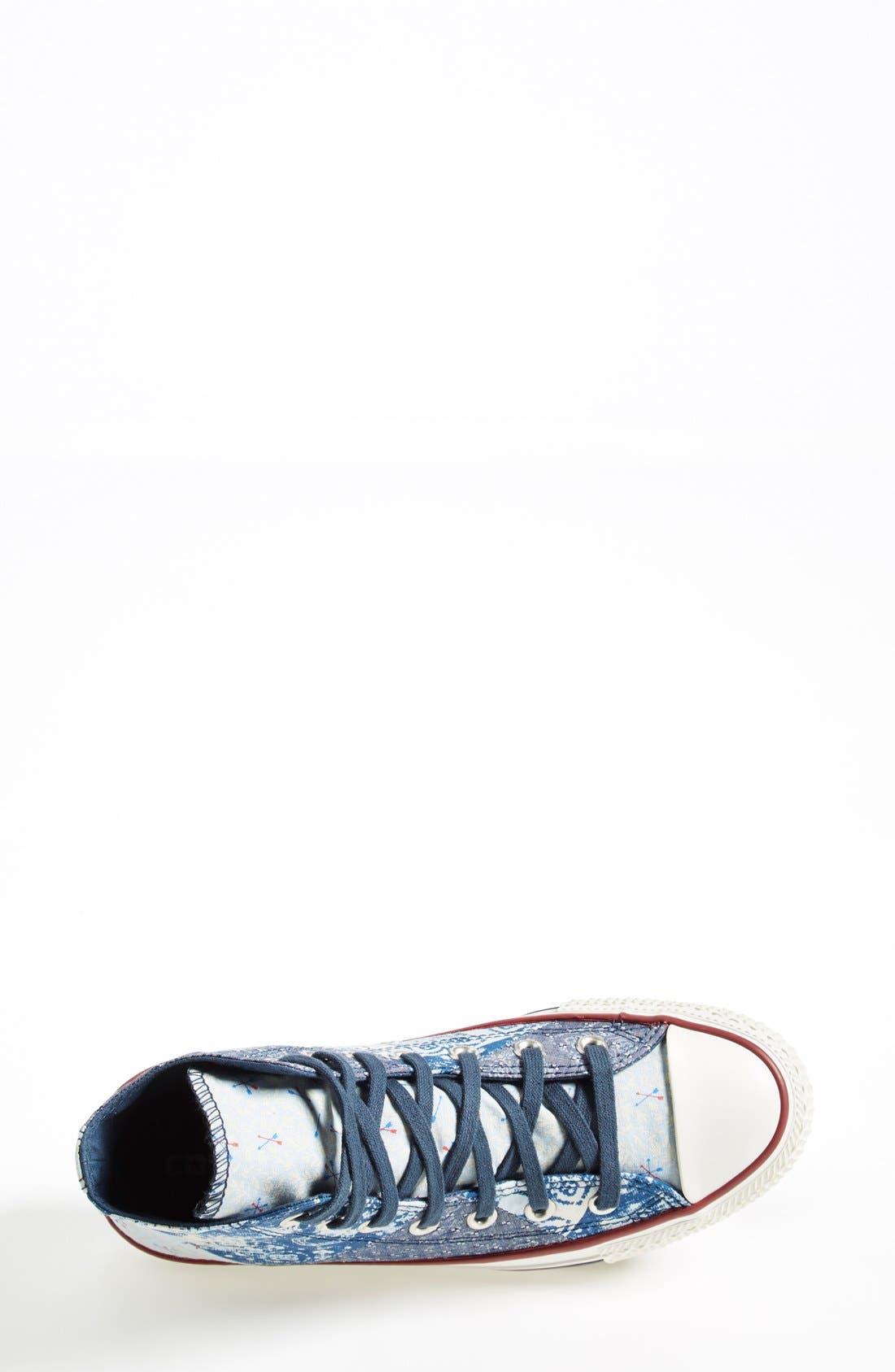 Alternate Image 3  - Converse Chuck Taylor® All Star® 'Multi Bandana' High Top Sneaker (Women)