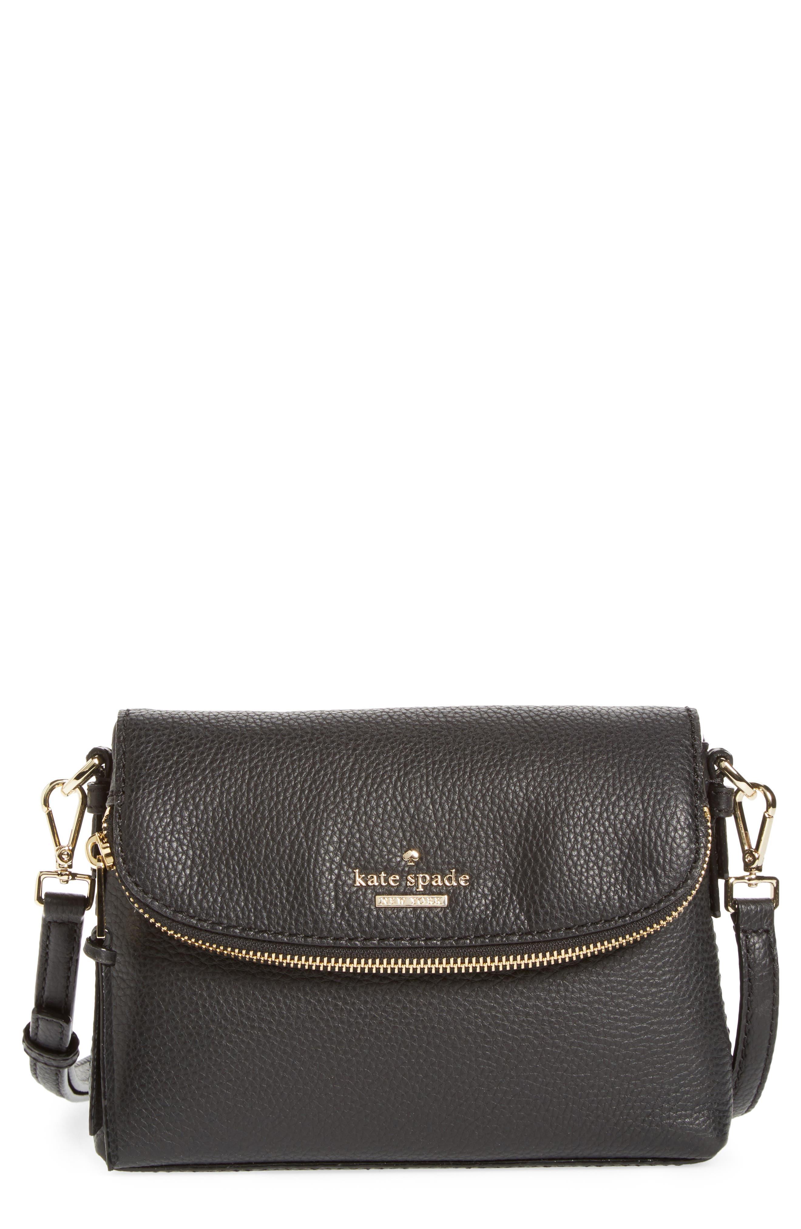 KATE SPADE NEW YORK jackson street harlyn leather crossbody bag