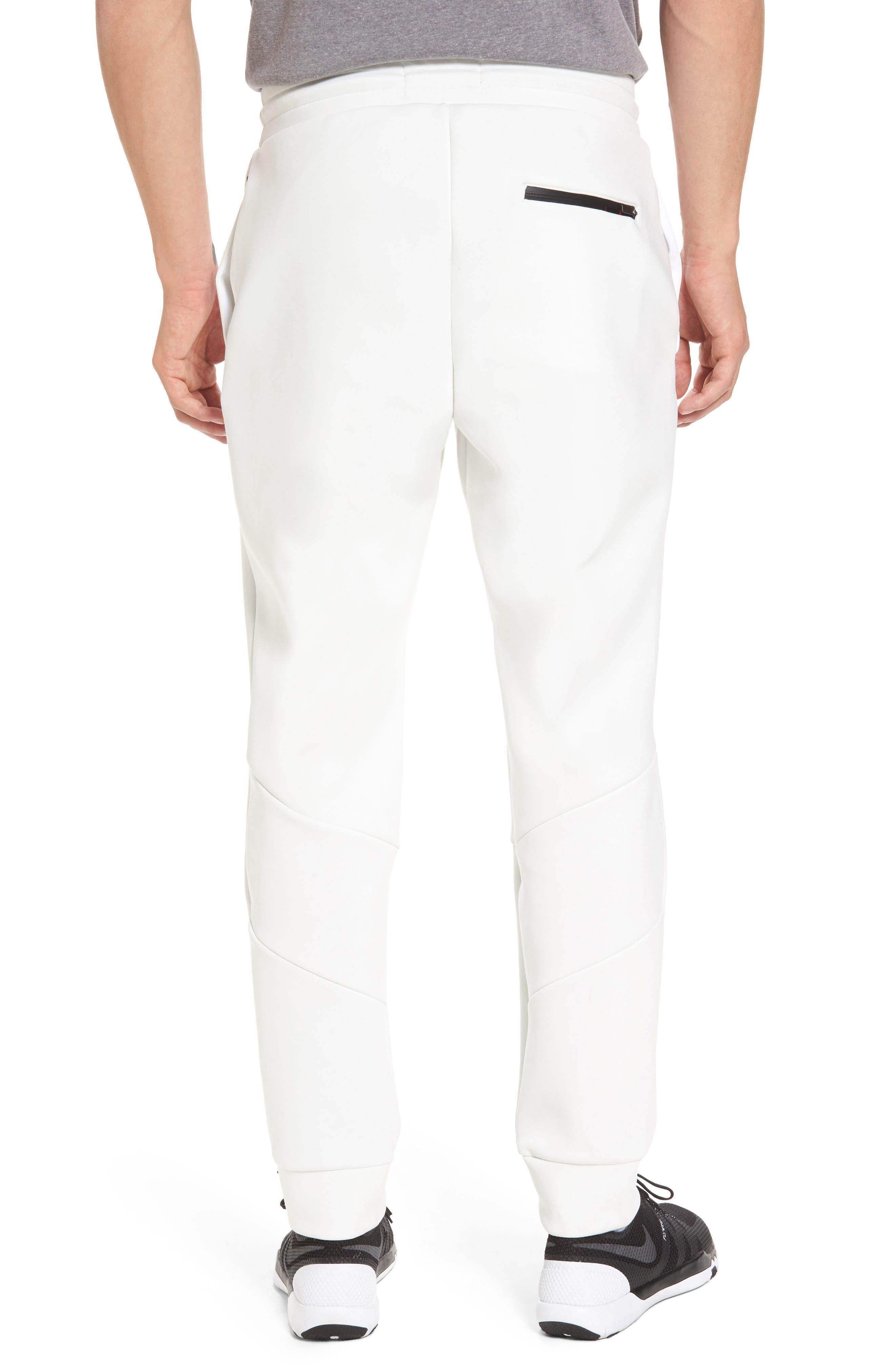 Sportswear Flight Tech Pants,                             Alternate thumbnail 2, color,                             Summit White/ Black