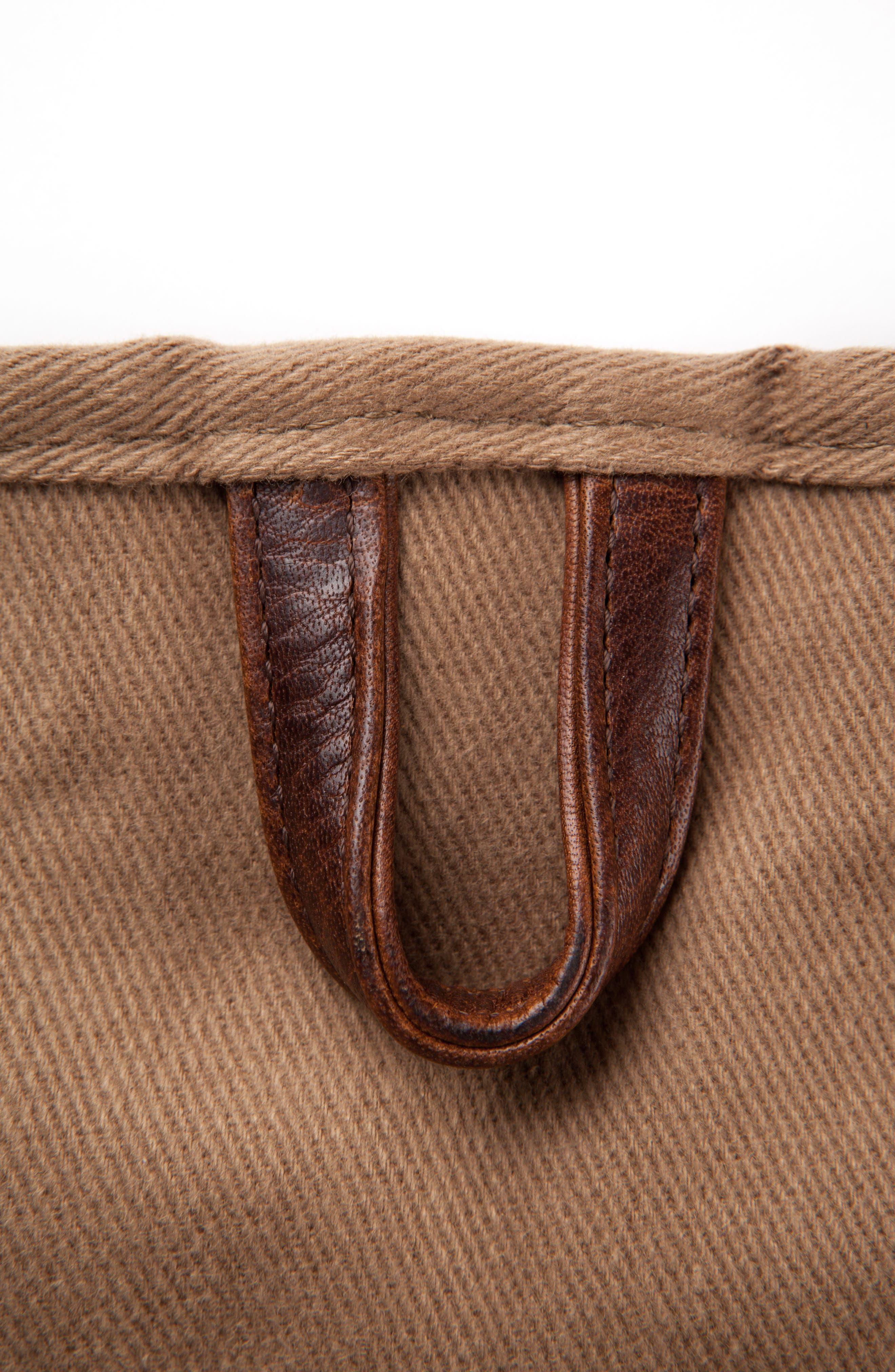 Holton Garment Bag,                             Alternate thumbnail 4, color,                             Brushed Tan Twill