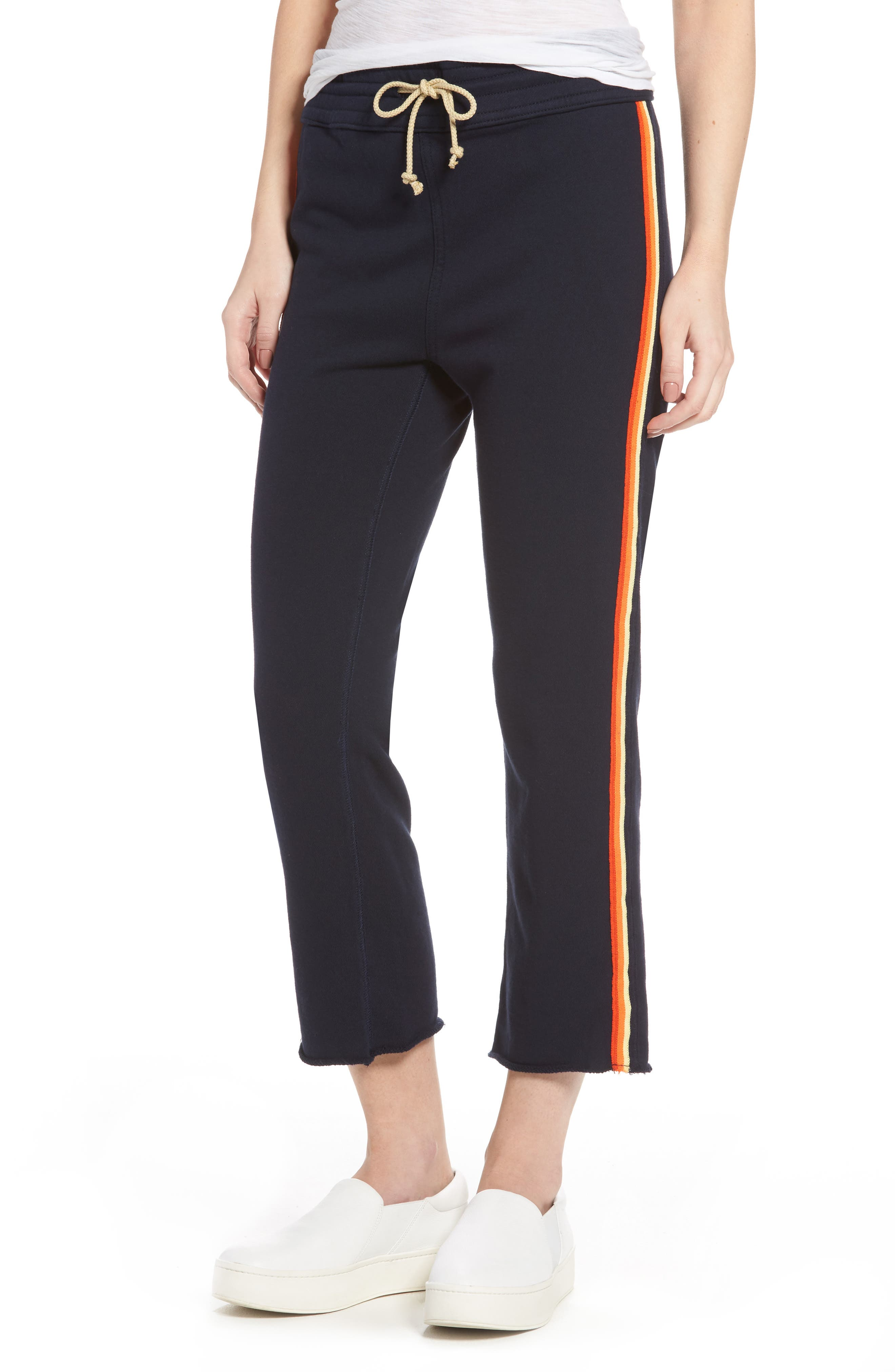 MOTHER High Rise Crop Gym Pants