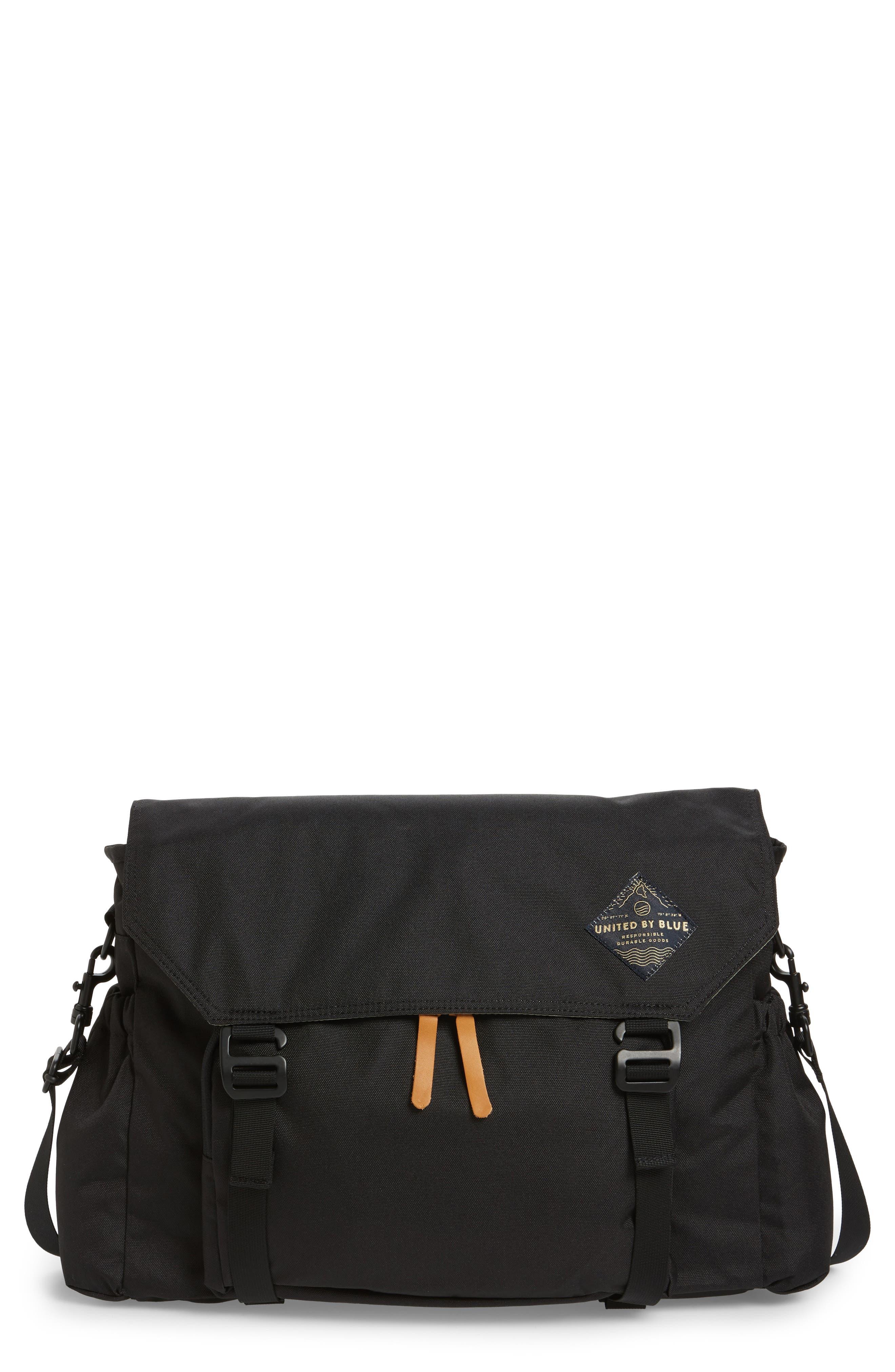 Crossridge Messenger Bag,                             Main thumbnail 1, color,                             Black
