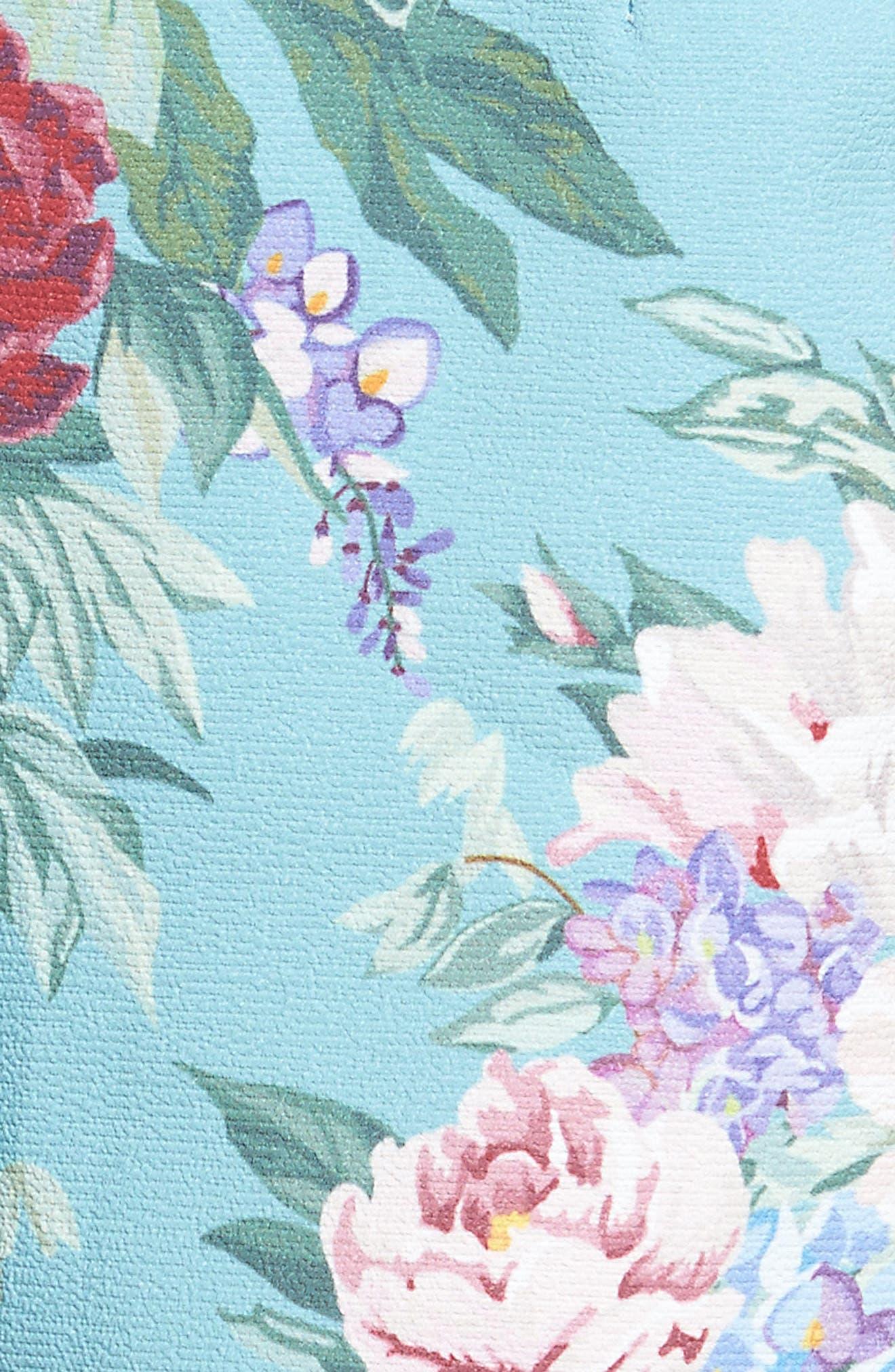 Martine Shorts,                             Alternate thumbnail 5, color,                             Darling Dolls Crinkle