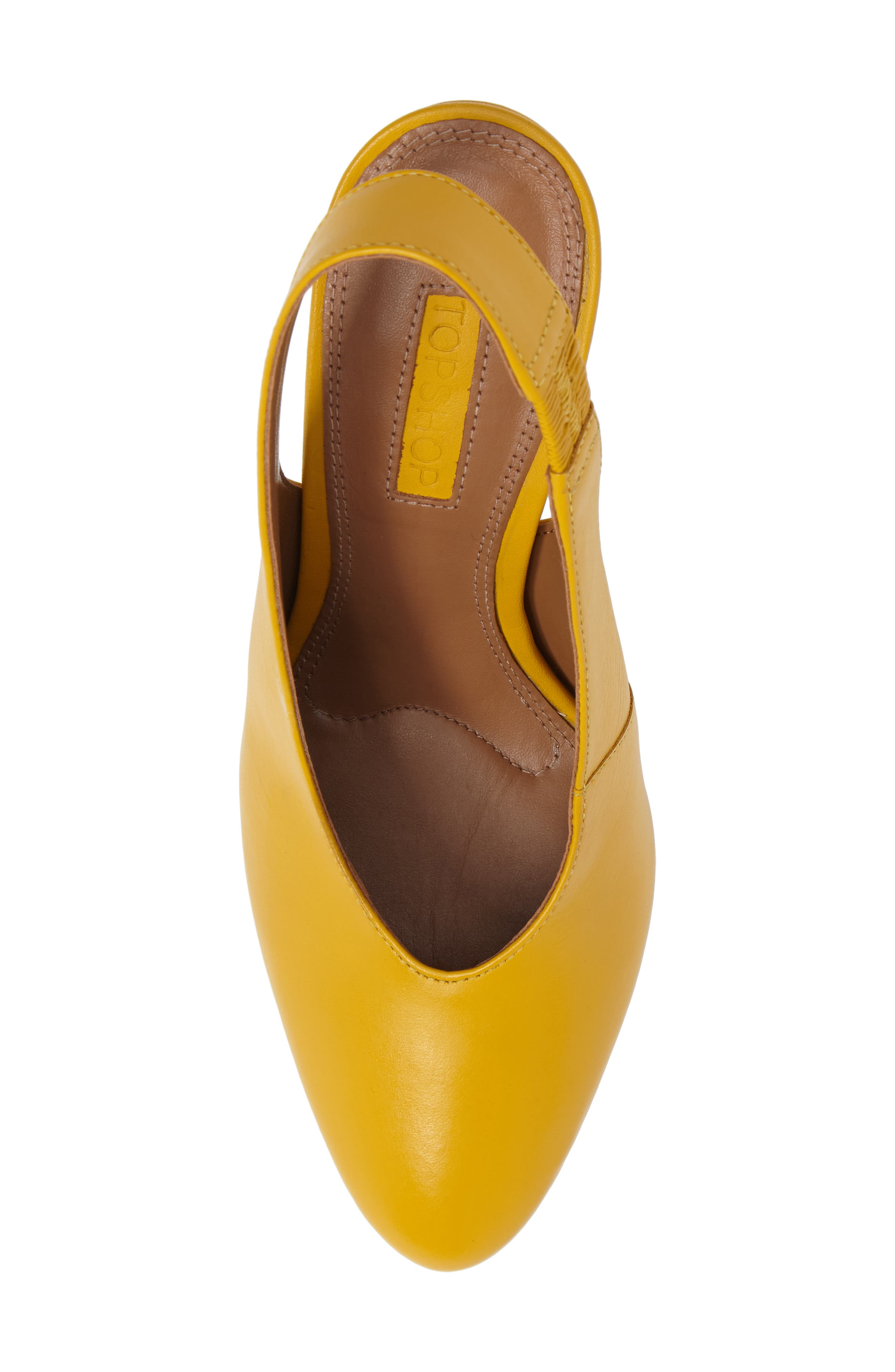 Gabriel Slingback Pump,                             Alternate thumbnail 5, color,                             Yellow