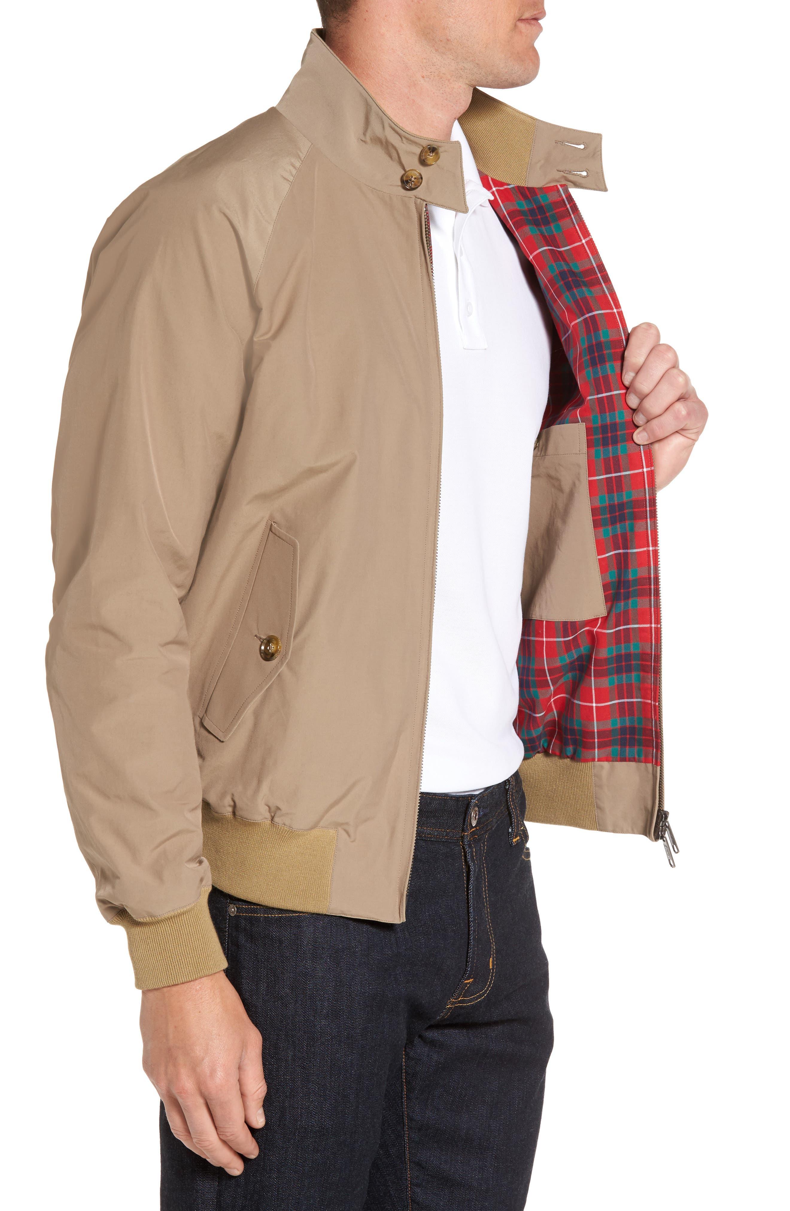 Alternate Image 3  - Baracuta G9 Water Resistant Harrington Jacket