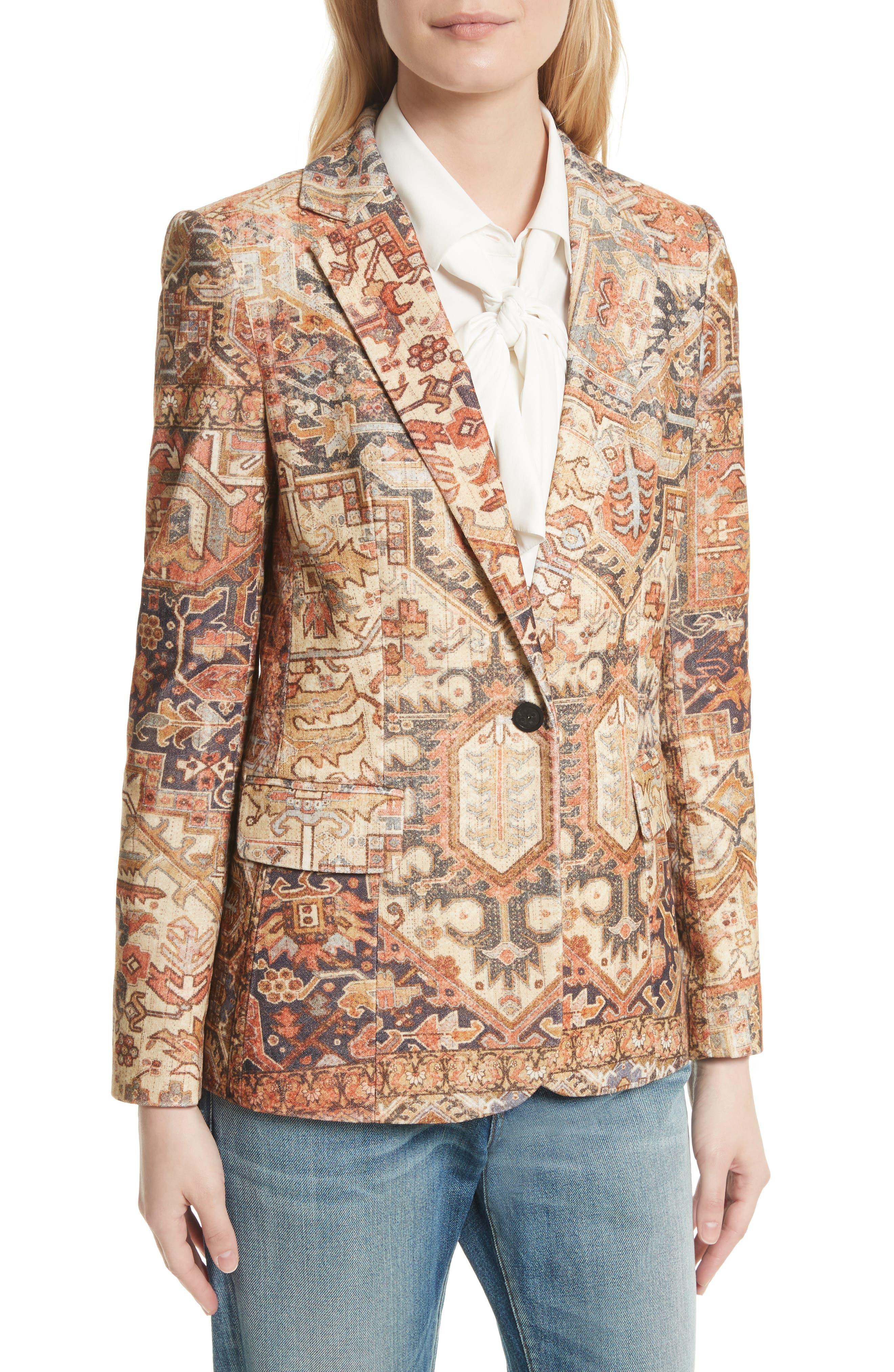 Alternate Image 5  - FRAME Persian Classic Blazer