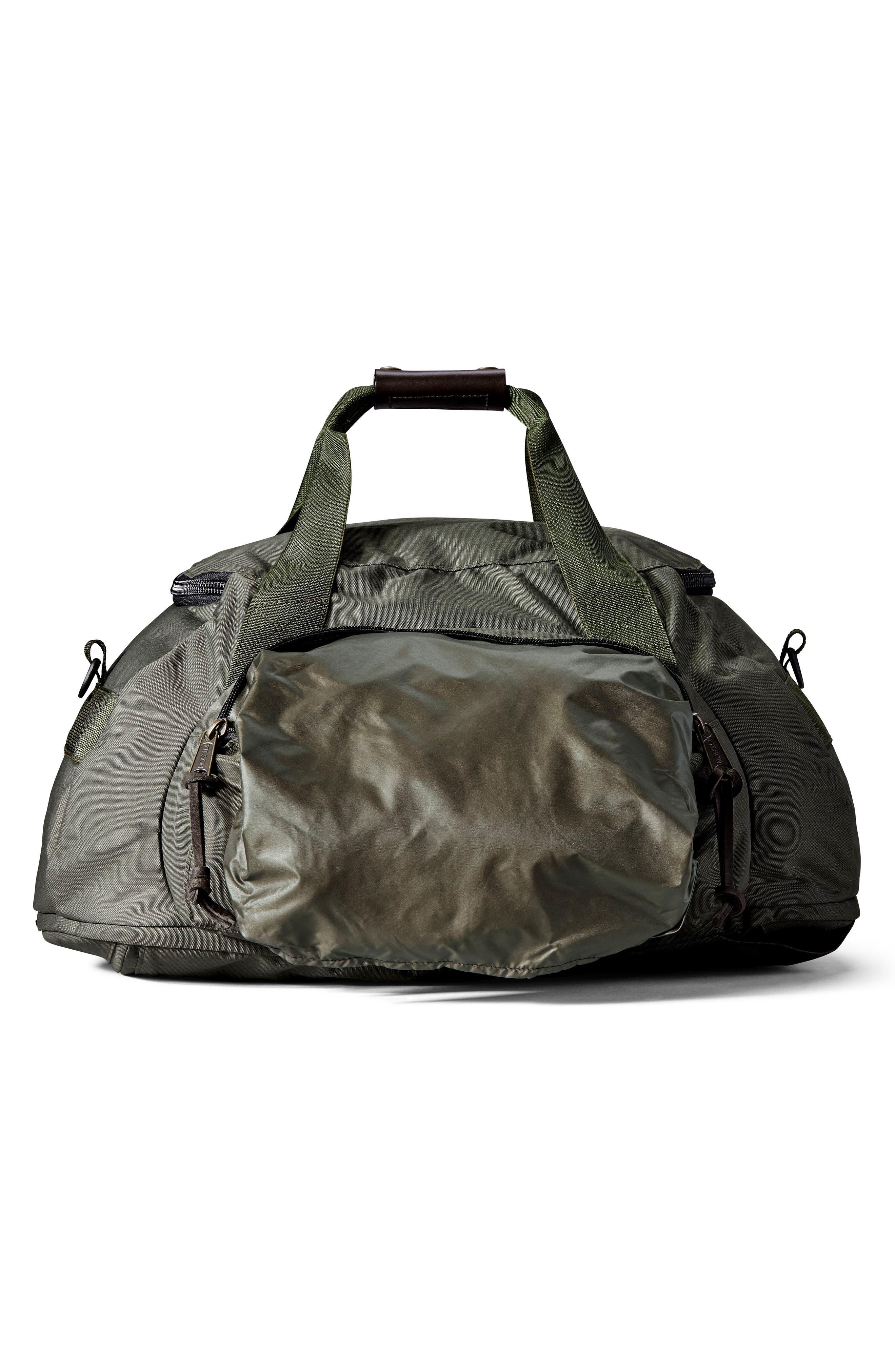 Convertible Duffel Bag,                             Alternate thumbnail 4, color,                             Otter Green