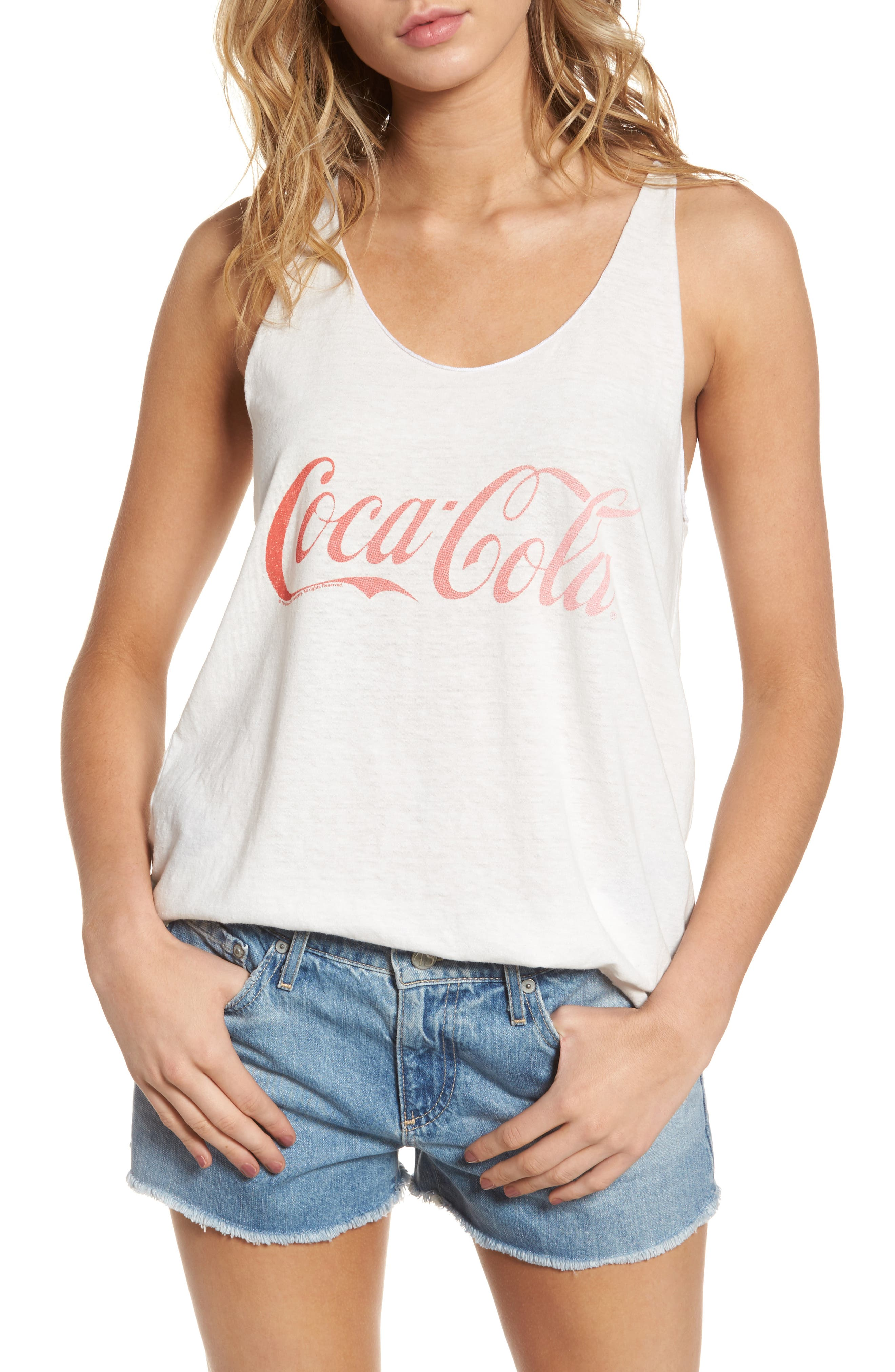 JUNK FOOD Coca Cola Classic Tank