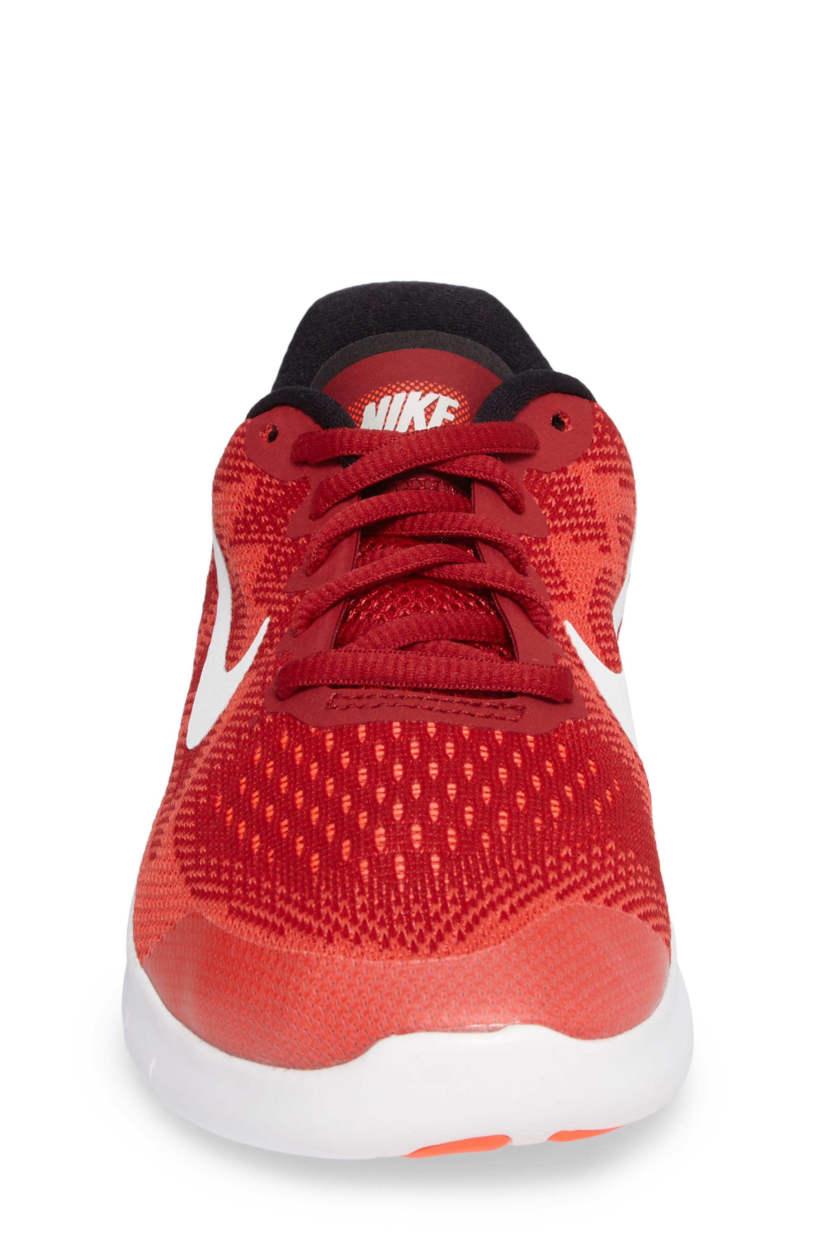 Alternate Image 4  - Nike Free RN Running Shoe (Toddler, Little Kid & Big Kid)