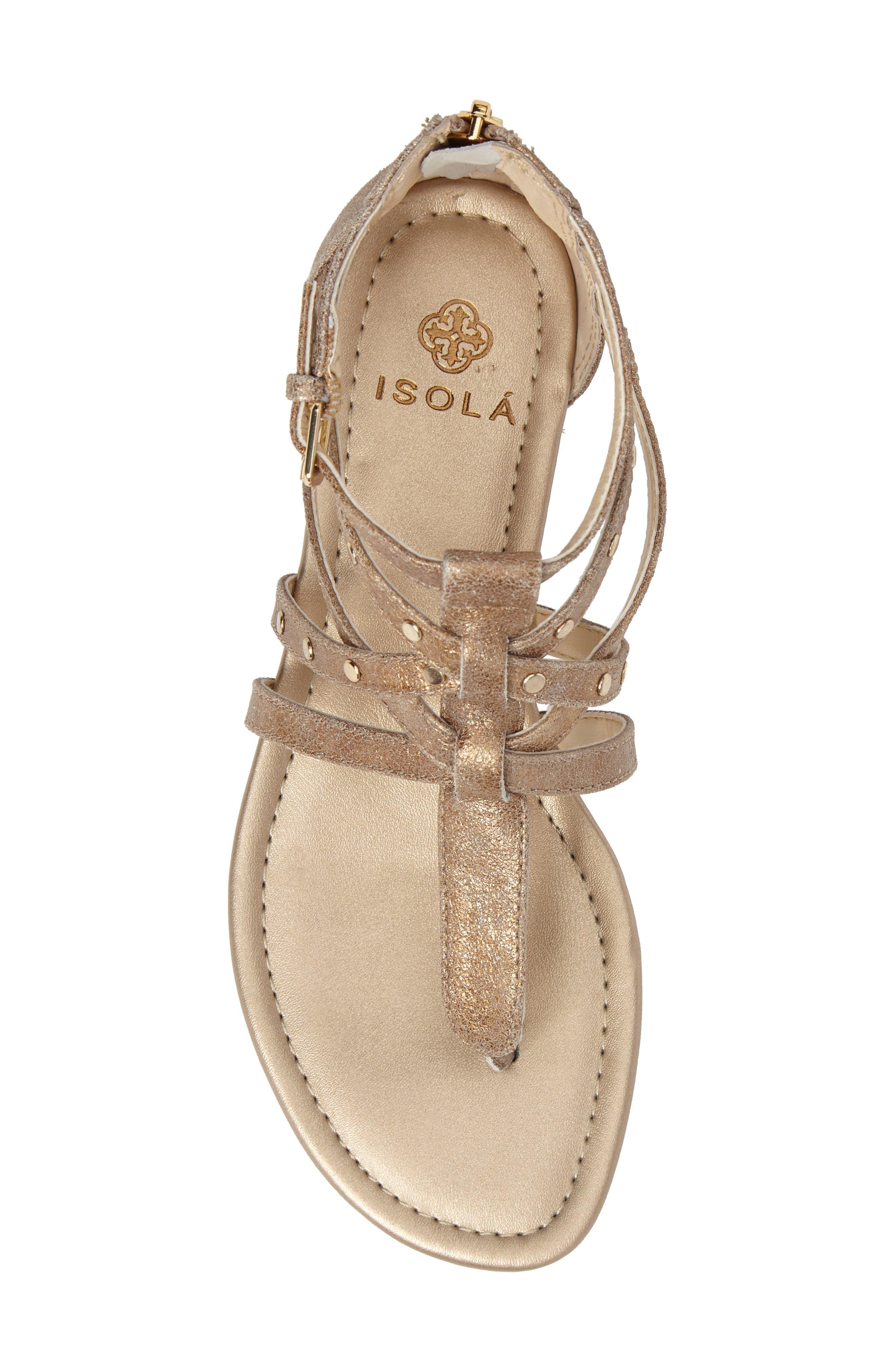 Alternate Image 5  - Isolá Melara T-Strap Gladiator Sandal (Women)