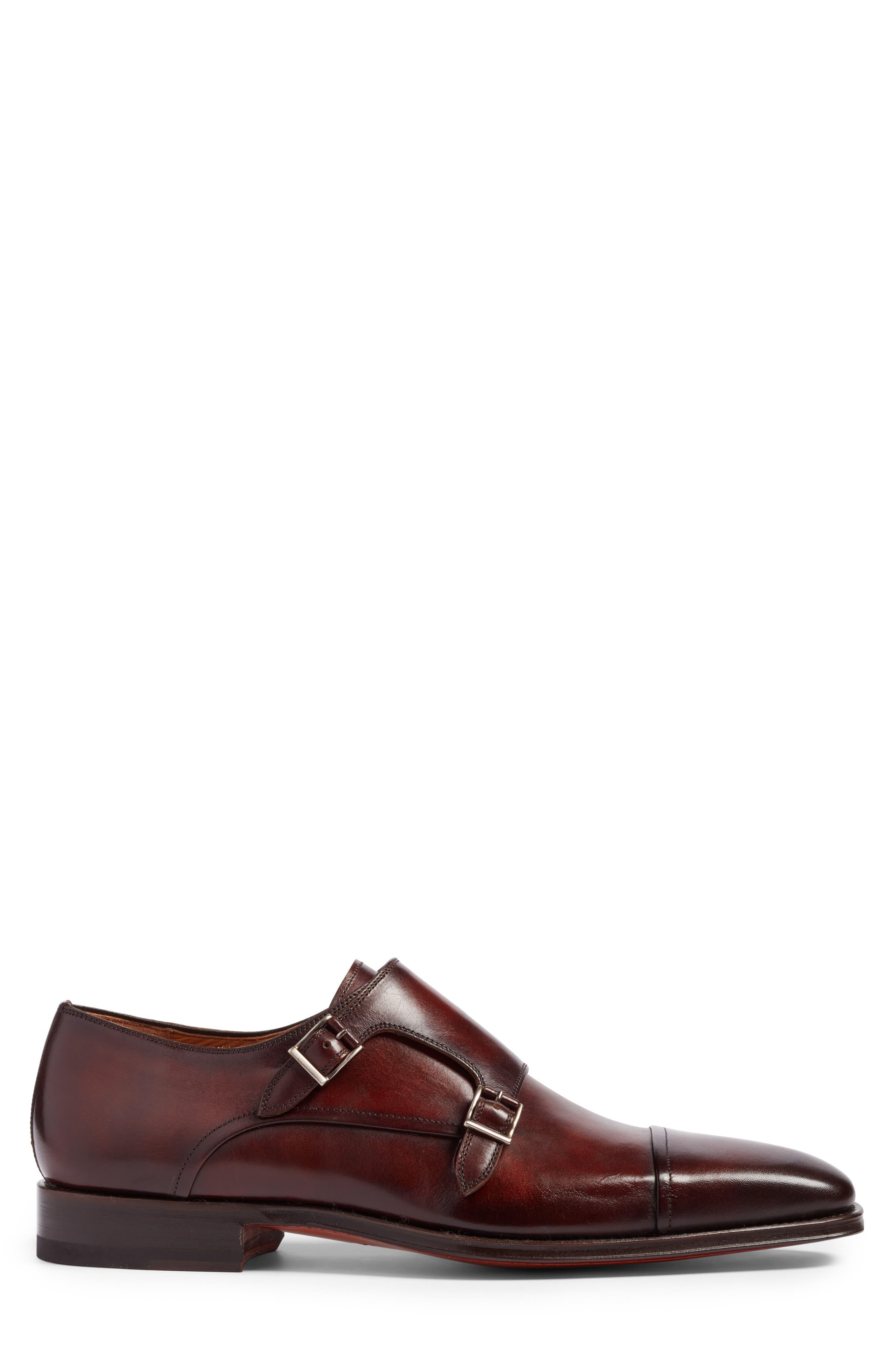 Alternate Image 3  - Magnanni Silvio Double Monk Strap Shoe (Men)