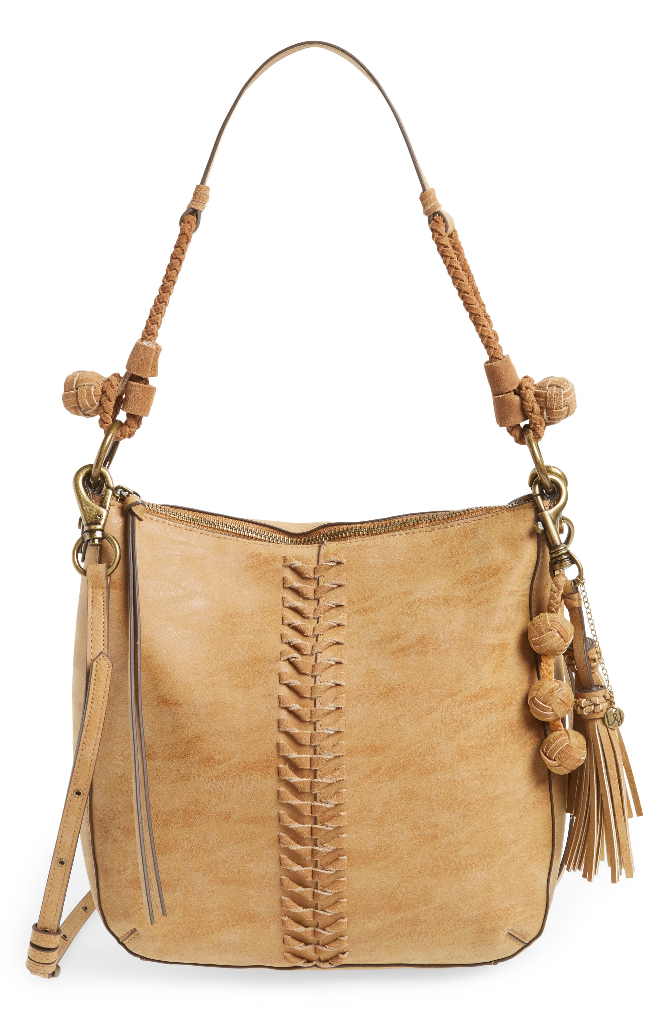 ELLE & JAE GYPSET Zaragoza Faux Leather Crossbody Hobo