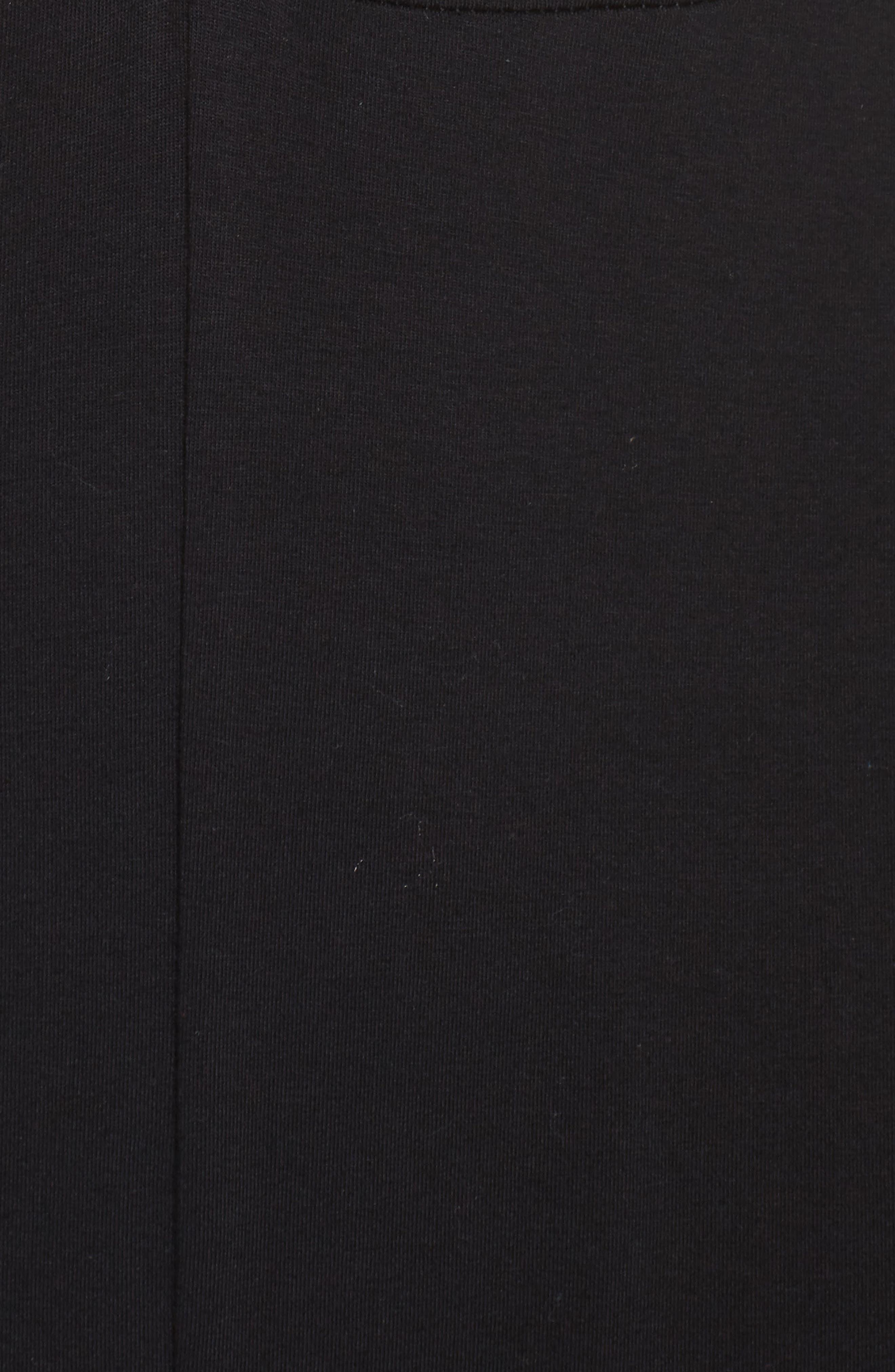 Roseann Jumpsuit,                             Alternate thumbnail 6, color,                             Black/ Grey Heather/ White