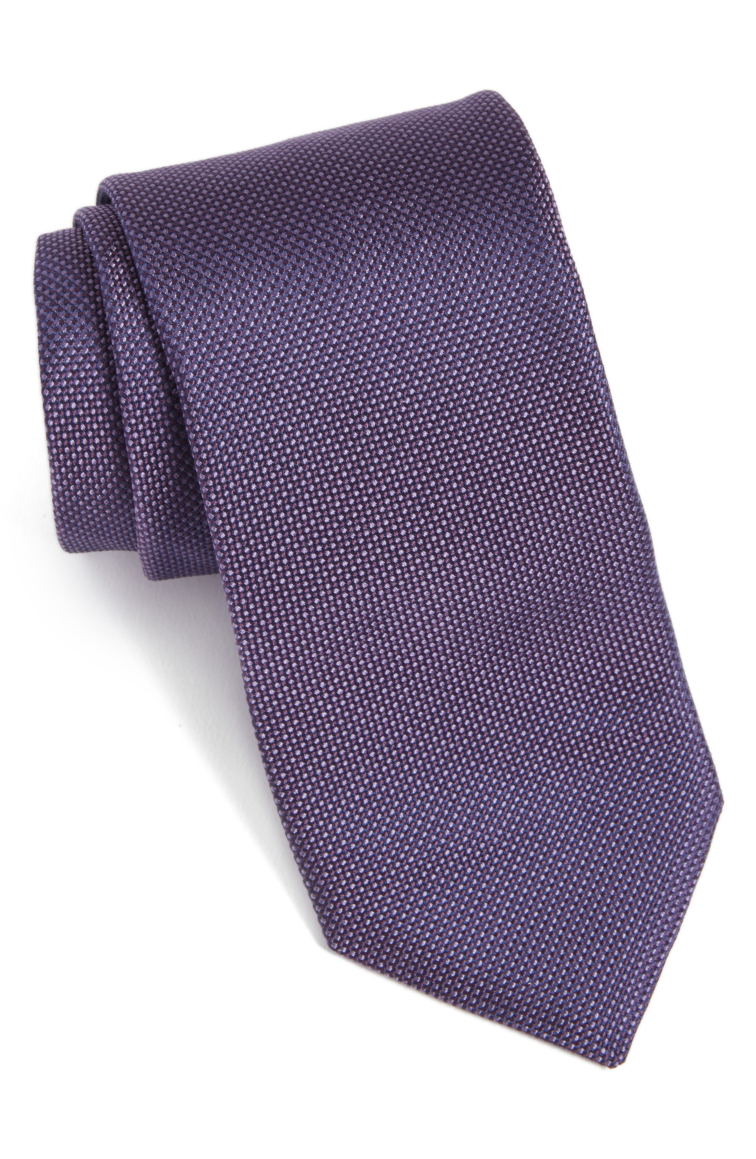 Main Image - Ted Baker London Solid Silk Tie