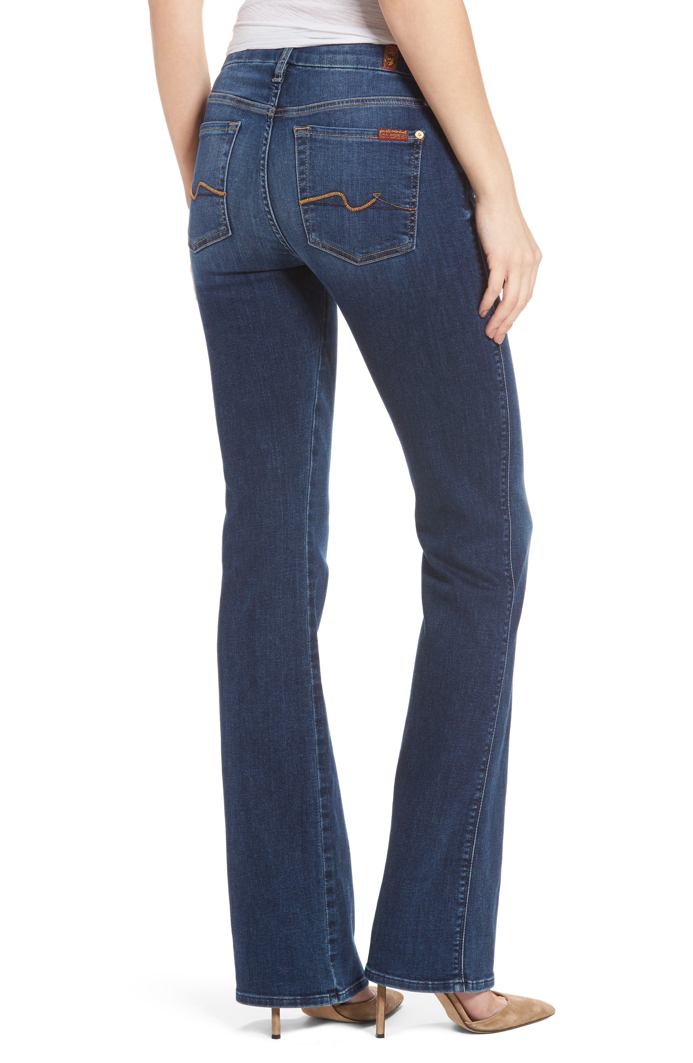 Alternate Image 2  - 7 For All Mankind® Kimmie Bootcut Jeans (Stunning Bleeker)